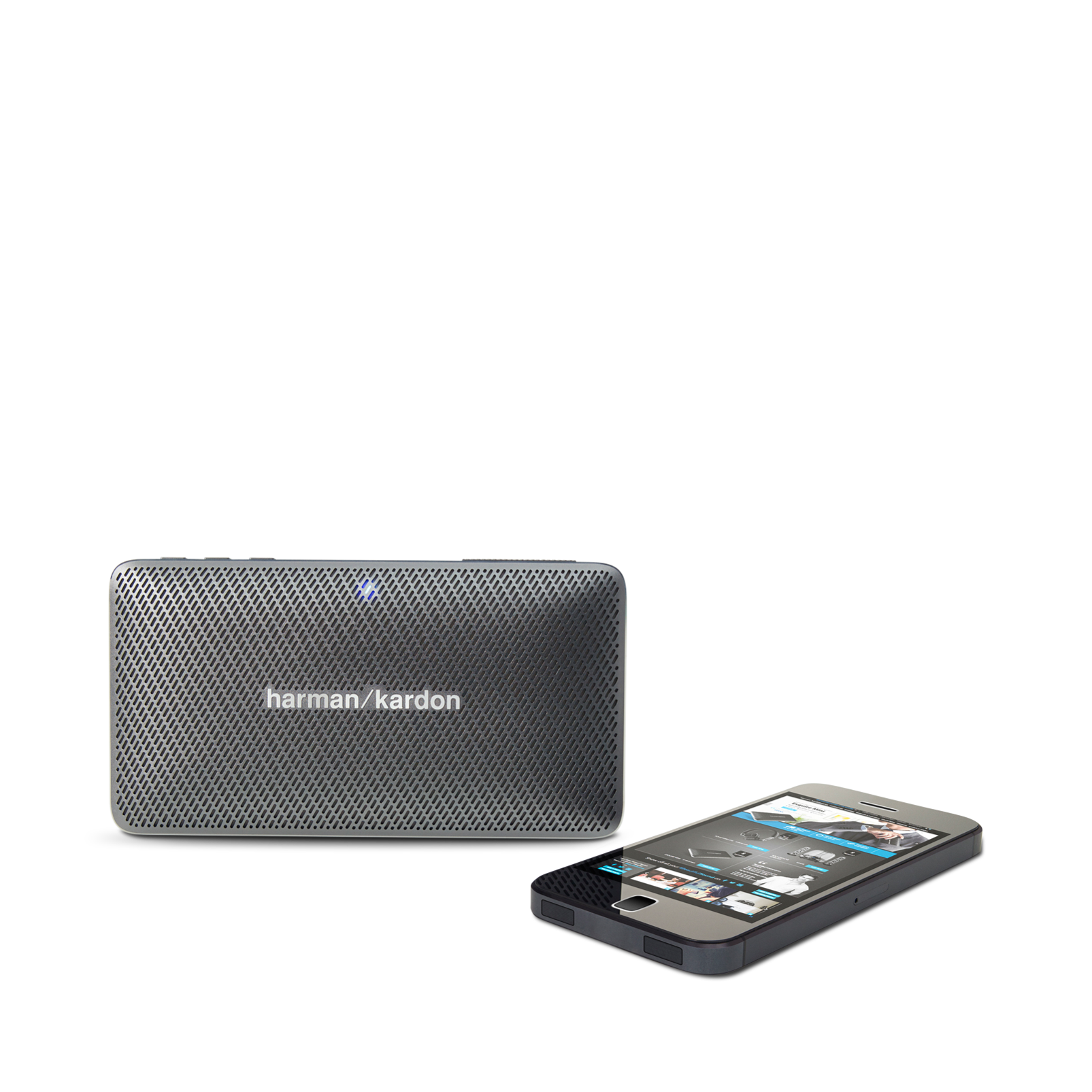 Esquire Mini - Grey - Wireless, portable speaker and conferencing system - Detailshot 5