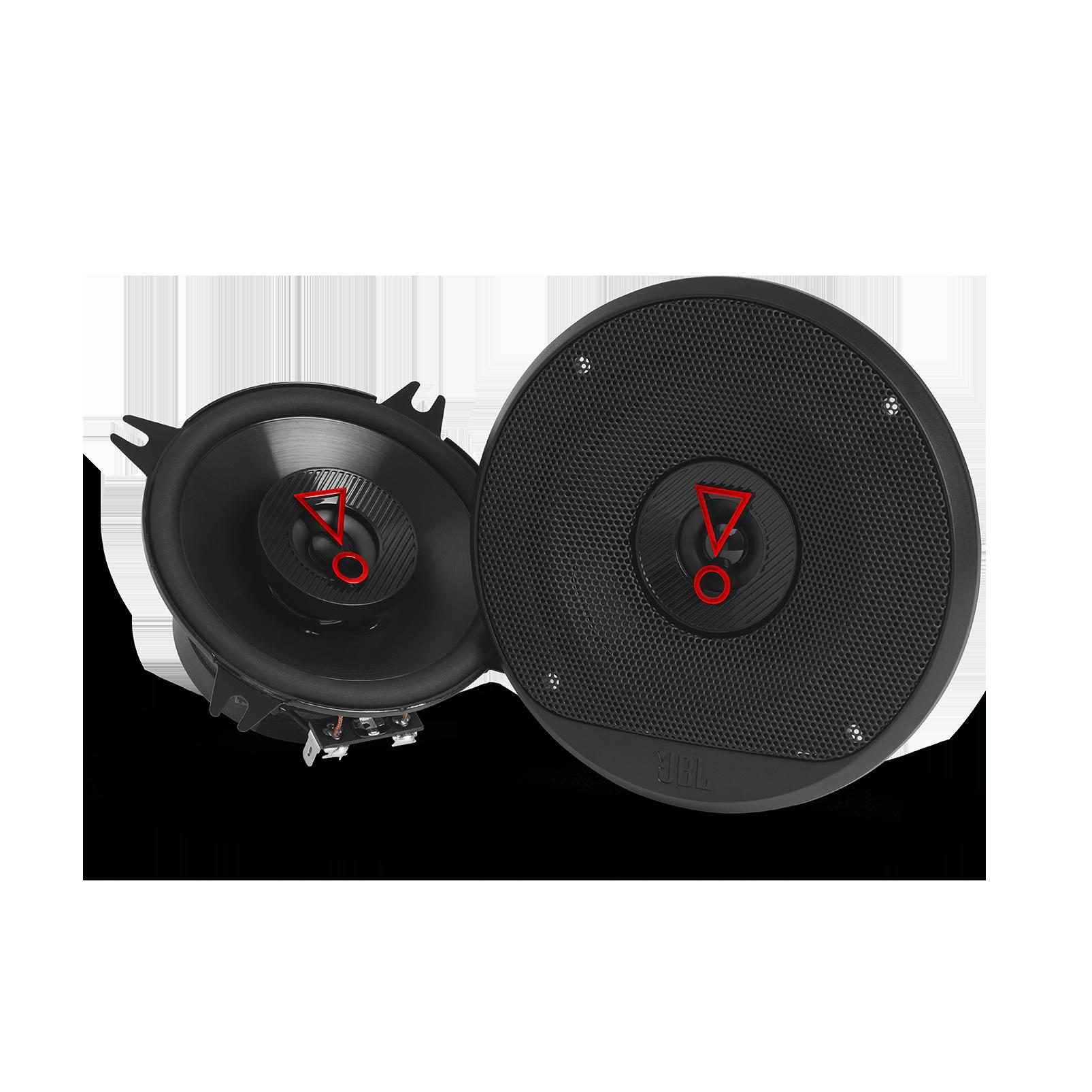 """Stage3 427 - Black - 4"""" (100mm)  2-Way coaxial car speaker - Hero"""