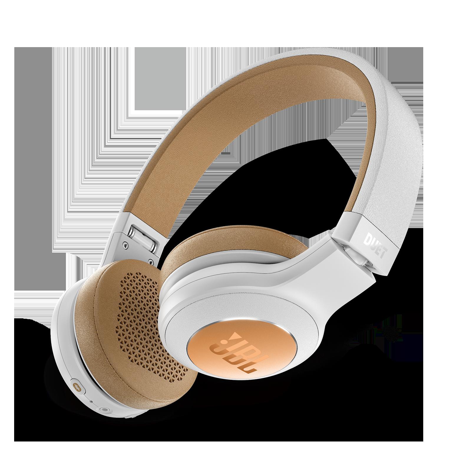 JBL Duet BT - Silver - Wireless on-ear headphones - Detailshot 1