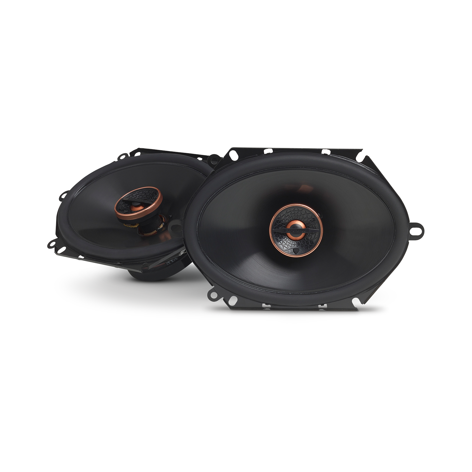 "Reference 8632cfx - Black - 6"" x 8"" (152mm x 203mm) coaxial car speaker, 180W - Hero"