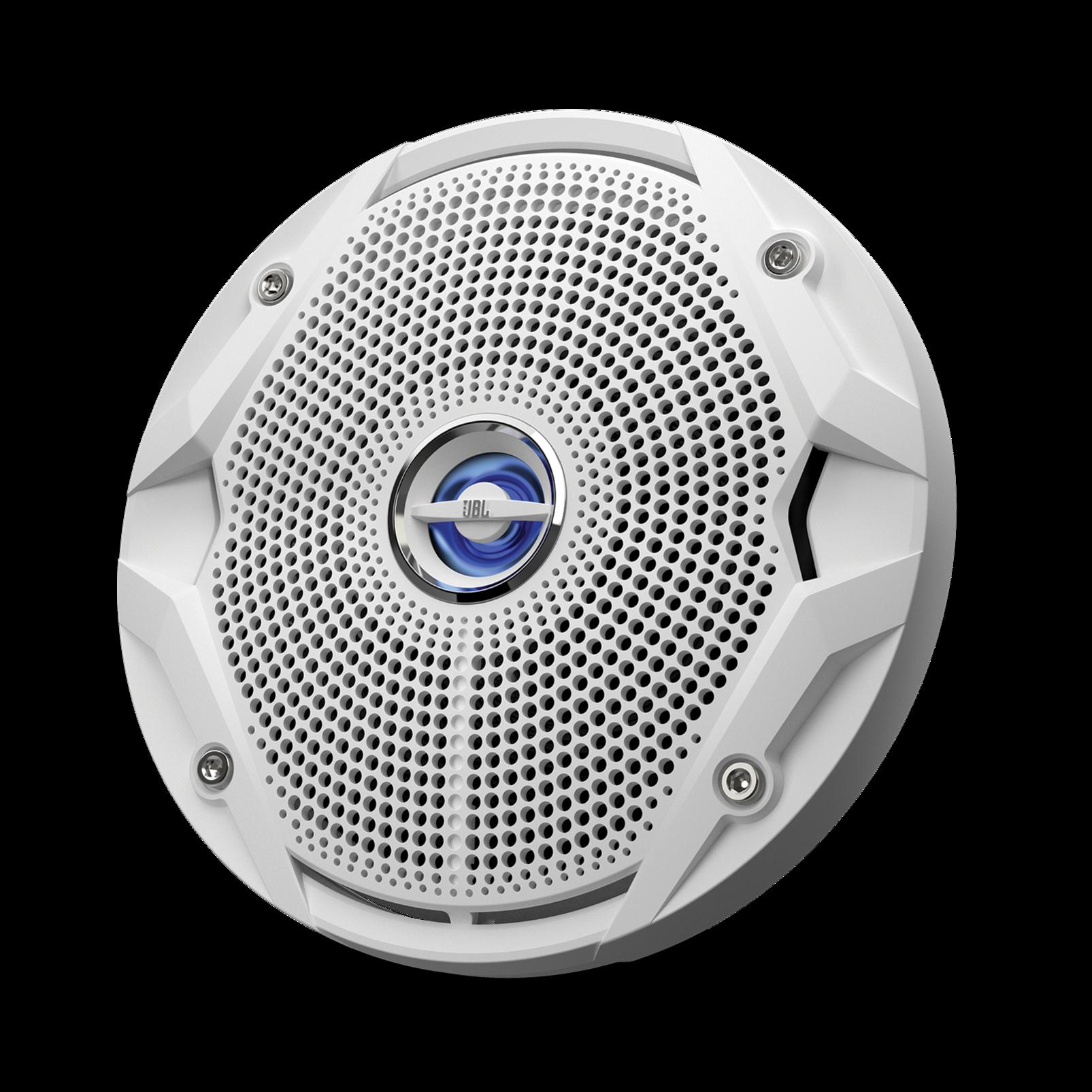 "MS 6520 - White - 6"" Coaxial, 180W Marine Speaker - Hero"