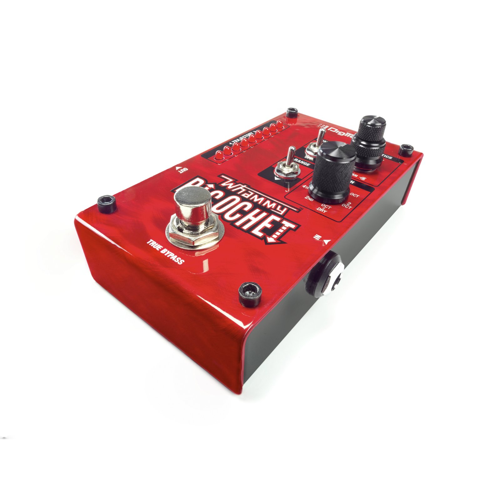 Whammy Ricochet - Red - Pitch Shift Pedal - Detailshot 1