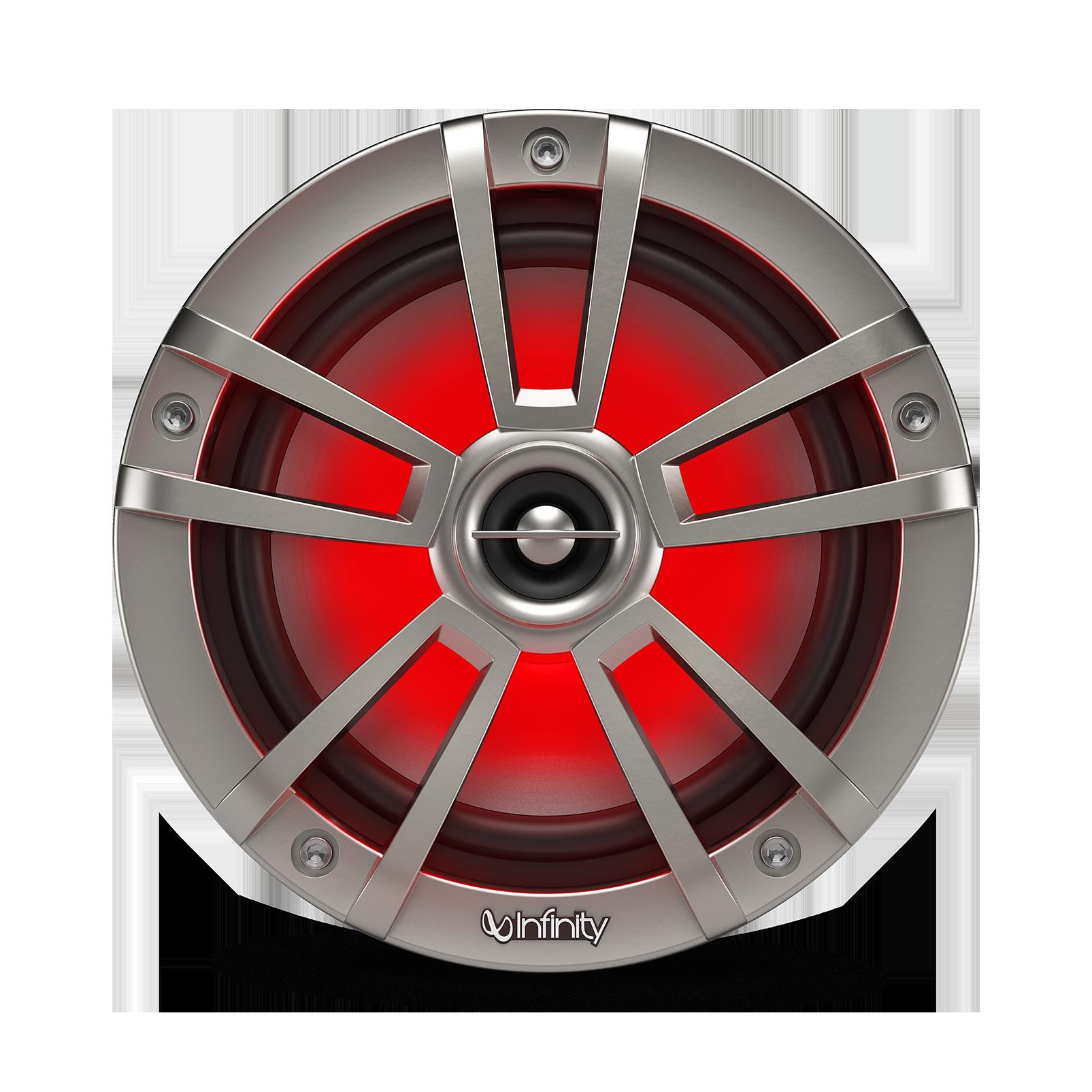 "Reference 622MLT - Graphite - Reference 622MLT—6-1/2"" (160mm) two-way marine audio multi-element speaker – titanium - Detailshot 5"
