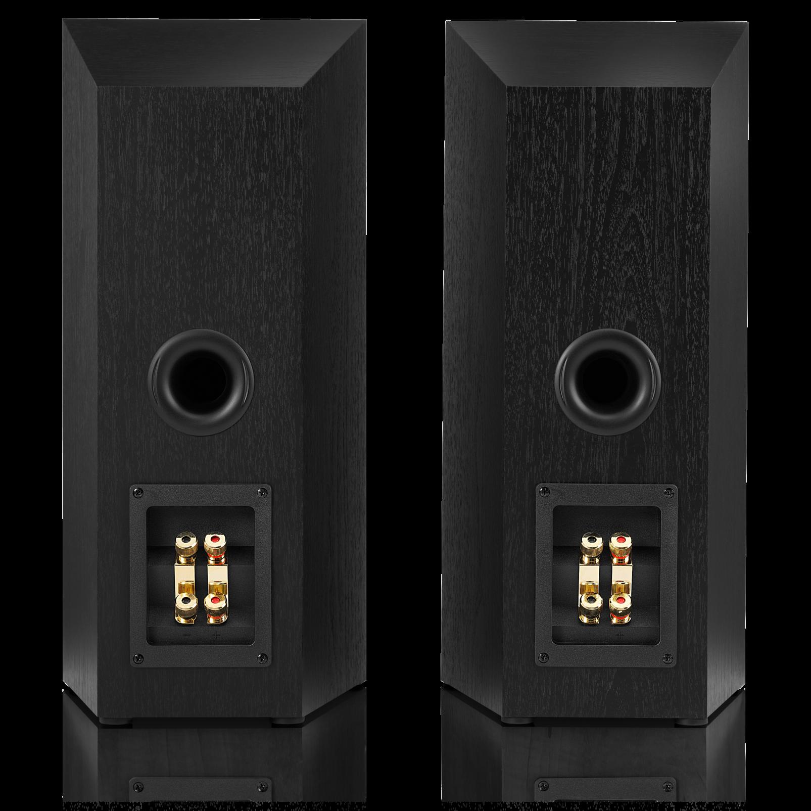 Studio 530 - Black - Professional-quality 125-watt Bookshelf Speakers - Back