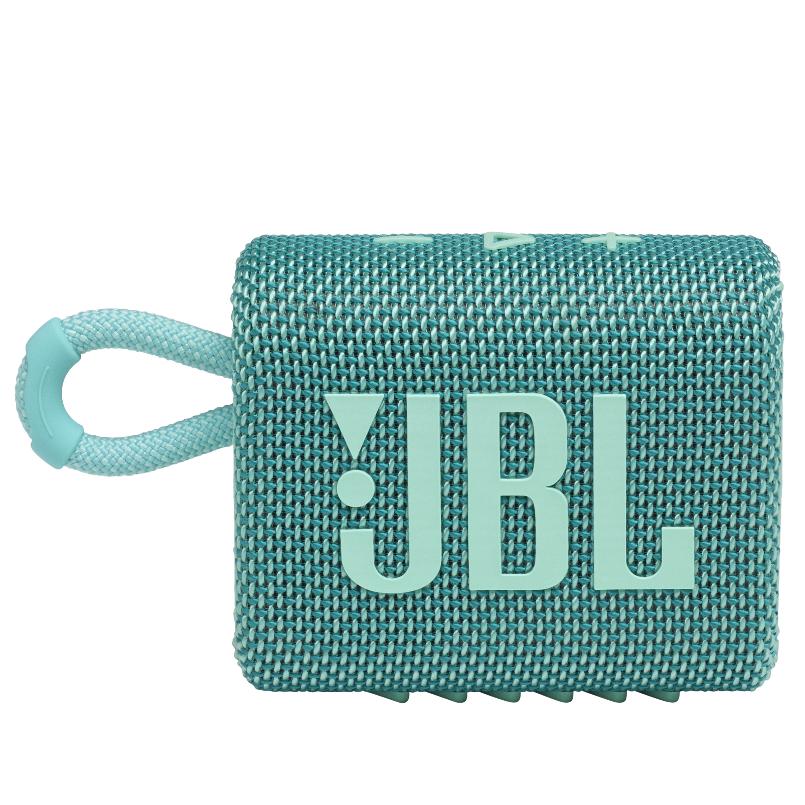 JBL GO 3 - Teal - Portable Waterproof Speaker - Front