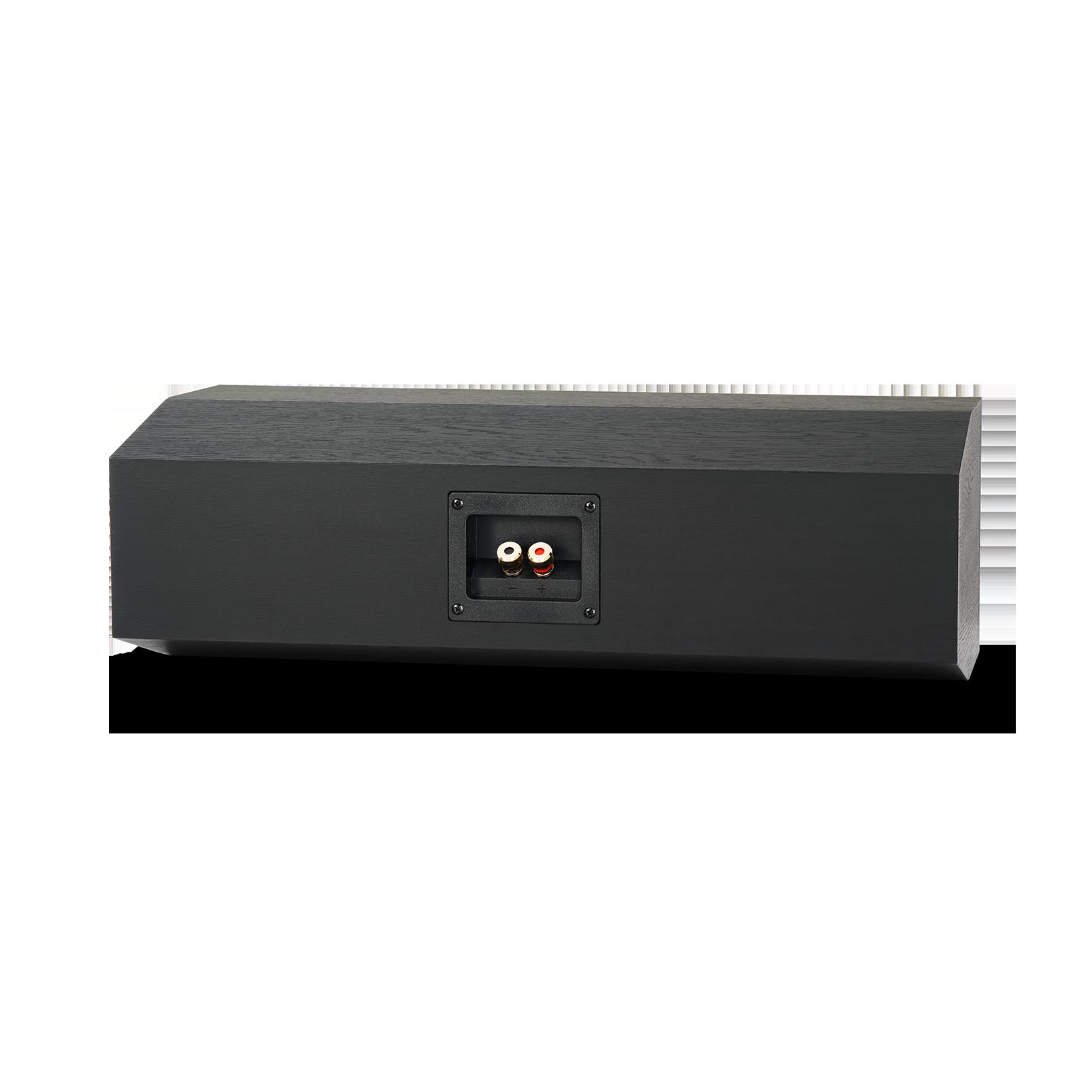 "Reference RC252 - Black - Dual 5-1/4"" 2.5-Way Center Channel Loudspeaker - Back"