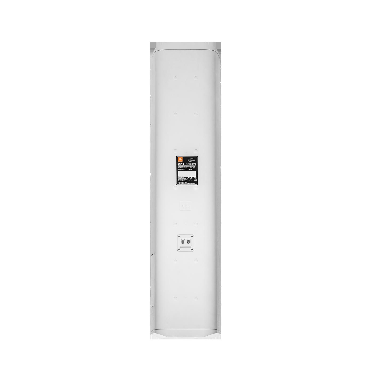 JBL CBT 1000 (B-Stock) - White - Constant Beamwidth Technology ™ Adjustable Coverage Line Array Column - Back