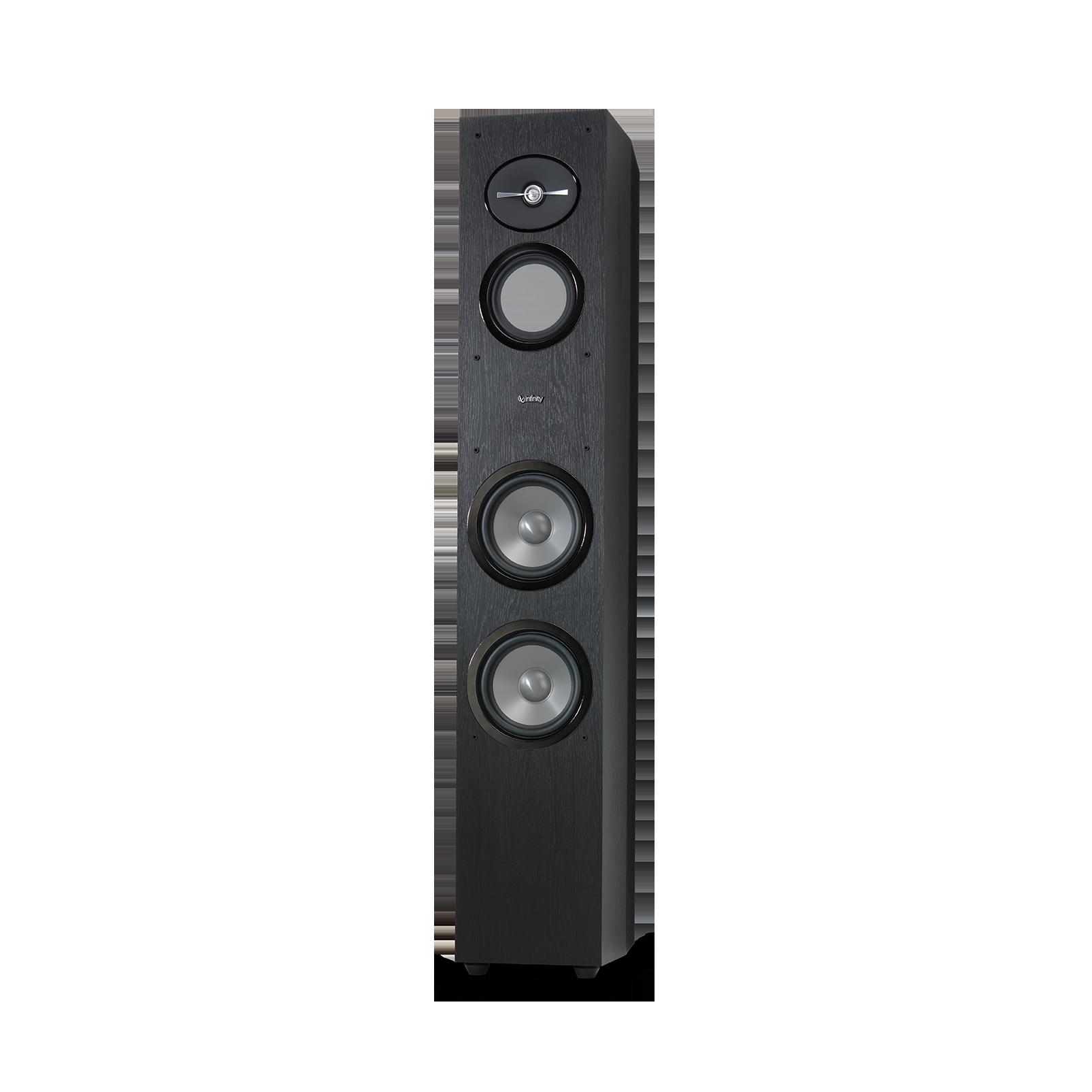 "Reference 263 - Black - 6-1/2"" 3-Way Floorstanding Loudspeaker - Front"