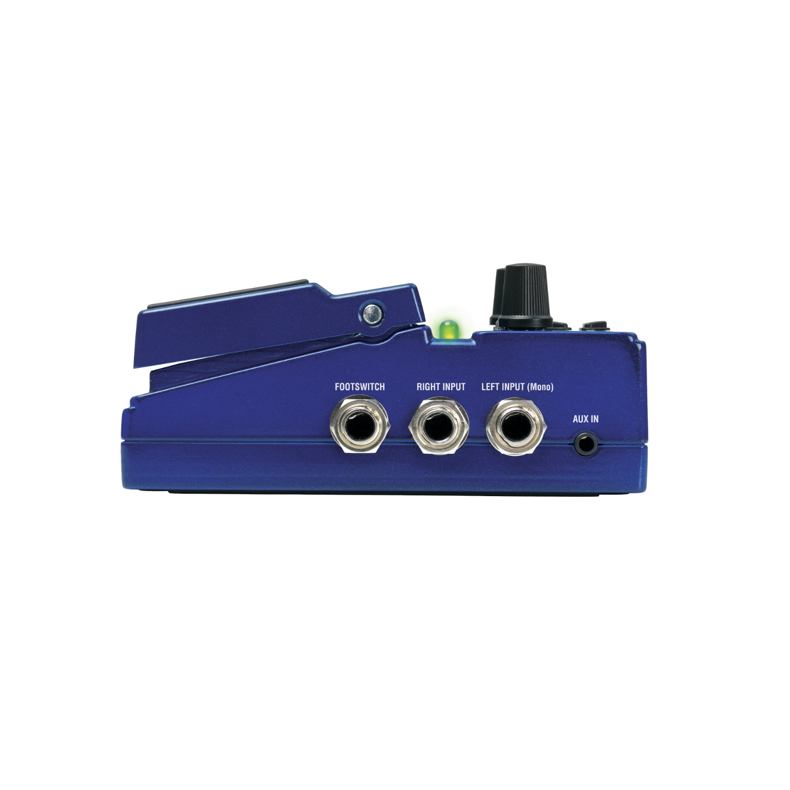 JamMan Solo XT - Blue - Stereo Looping in a Compact Pedal with JamSync - Detailshot 1