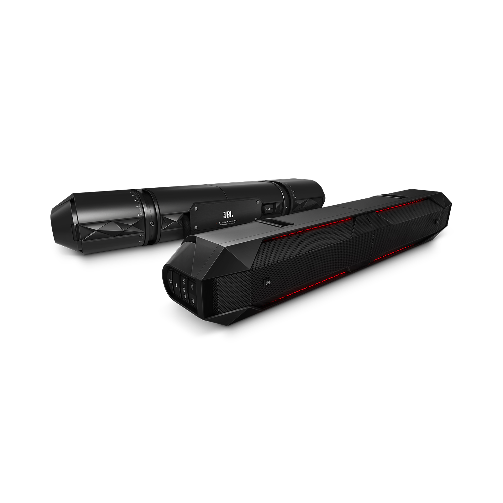 JBL Stadium UB4100 Powersports - Black - Weatherproof Full Range Speaker Pair, 240W - Hero