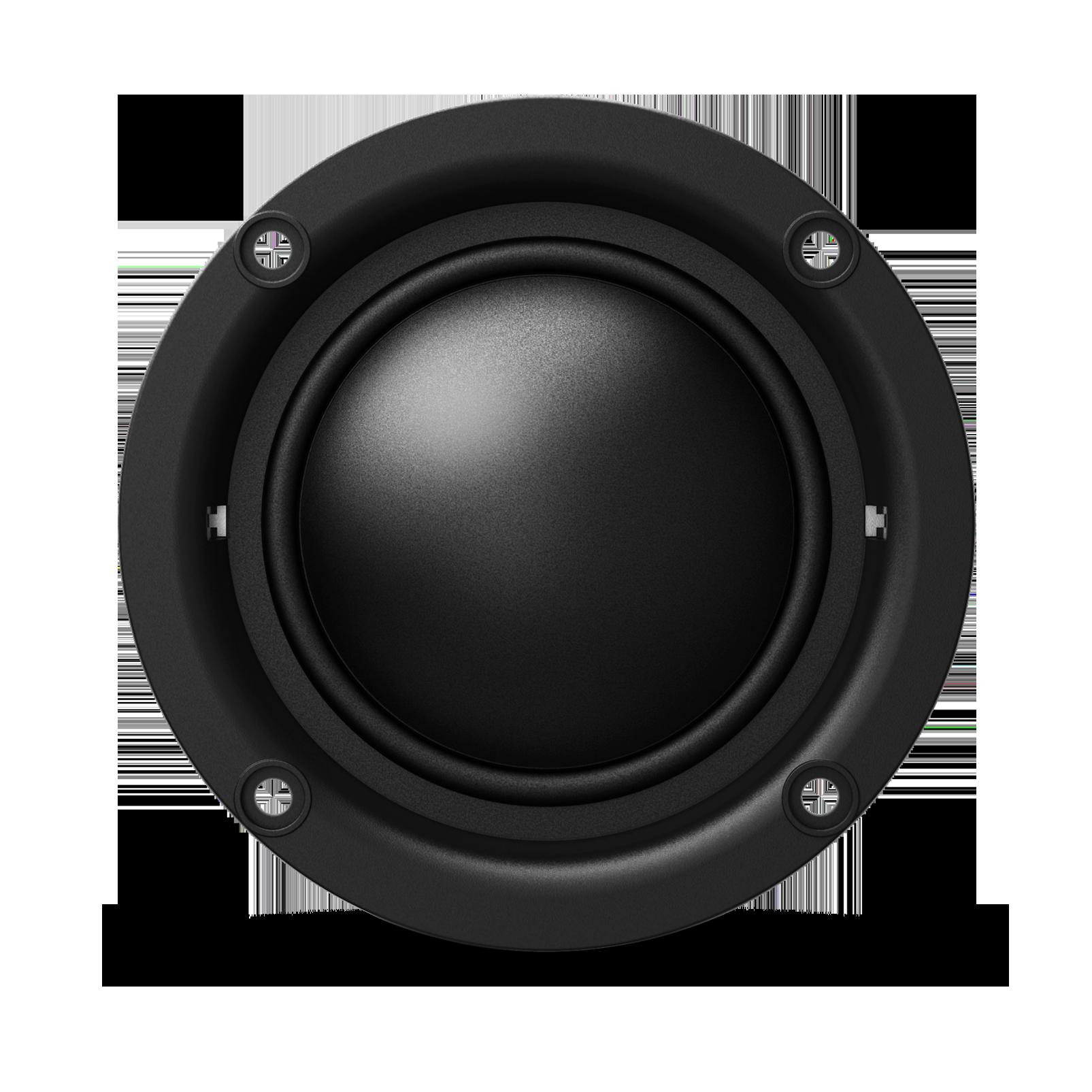 "KAPPA 20MX - Black - Kappa 20mx—2"" (50mm) car audio dome midrange w/ bandpass crossover enclosure - Detailshot 4"