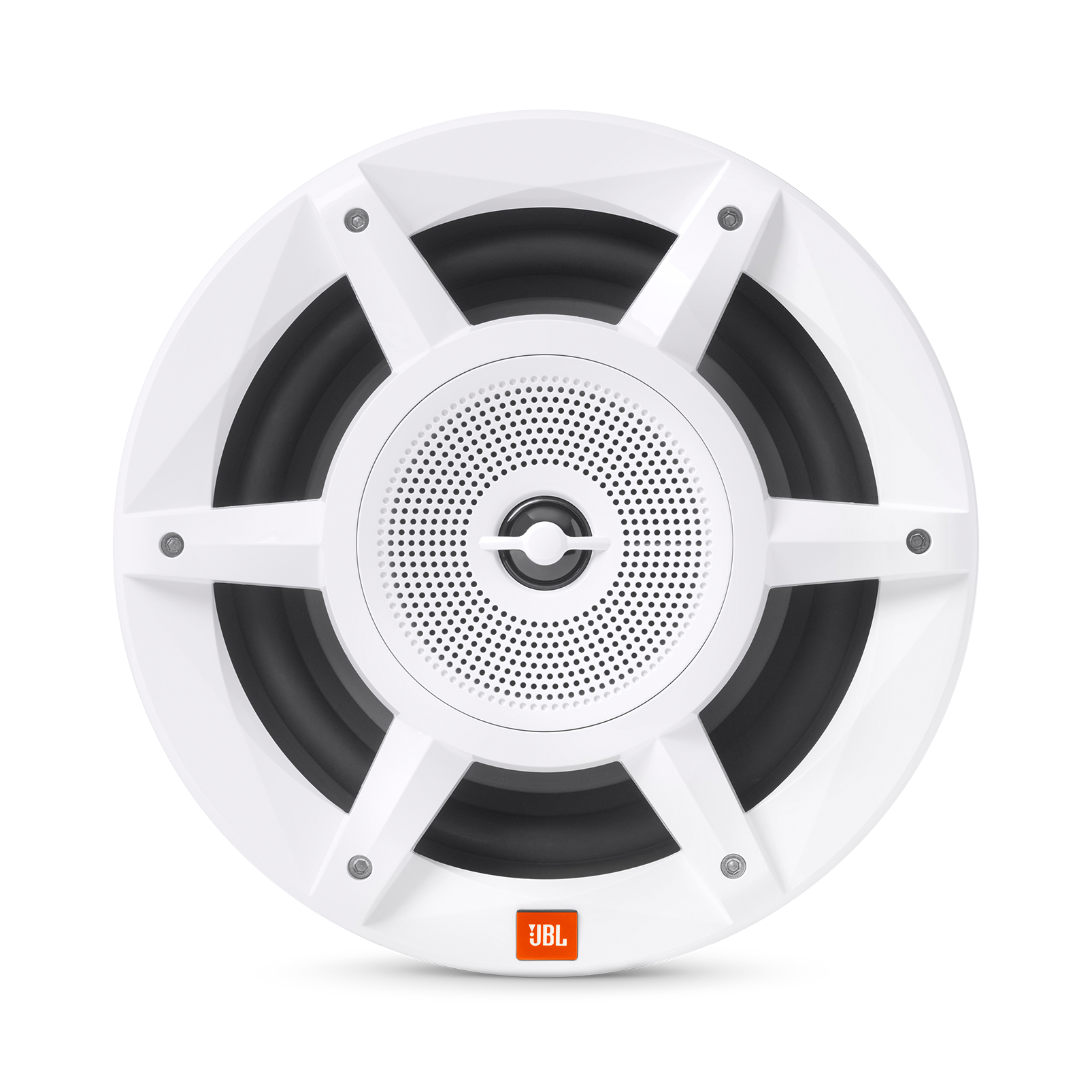 JBL Stadium Marine M8030 - White - Take JBL concert level sound to the high seas. - Front