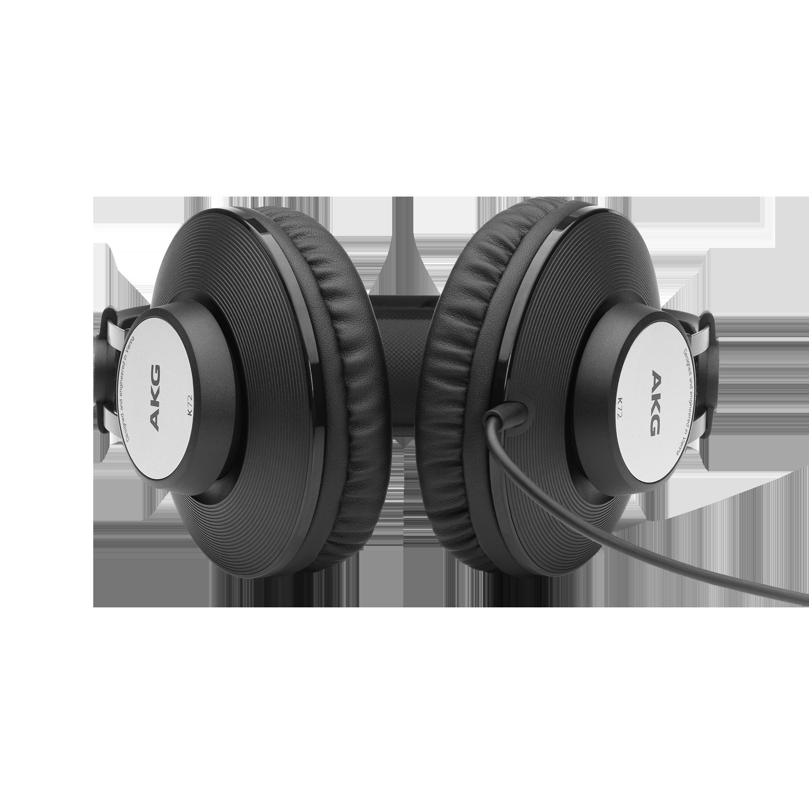 K72 - Black - Closed-back studio headphones - Detailshot 1