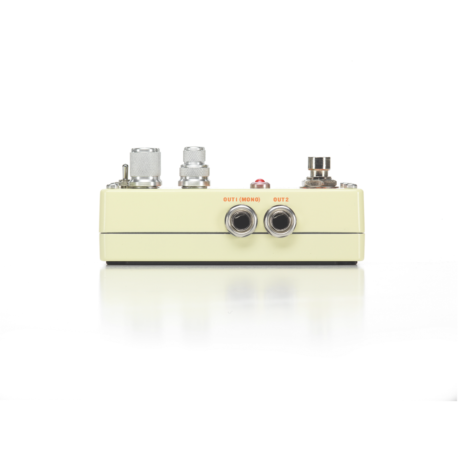 Obscura - Beige - Altered Delay Pedal - Left