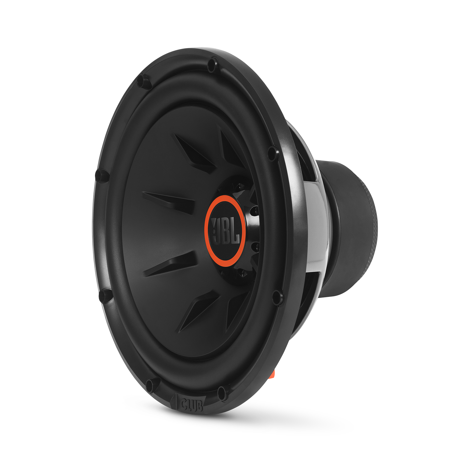 "Club 1224 - Black - 10"" (250mm) and 12"" (300mm) car audio subwoofers - Hero"