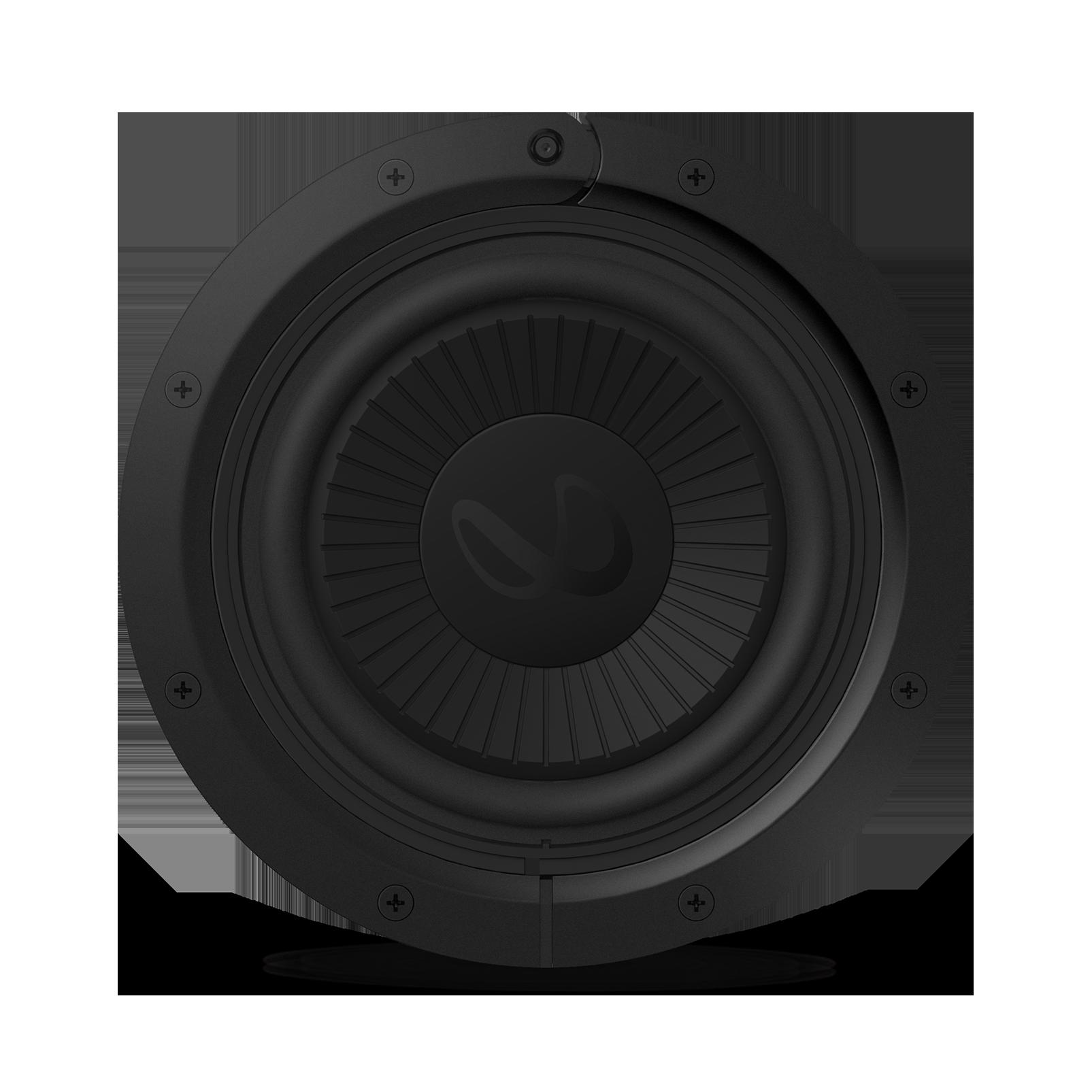 "Reference Flex Woofer 8s - Black - 8"" (200mm) adjustable depth car audio subwoofers optimized for factory location upgrades - Front"