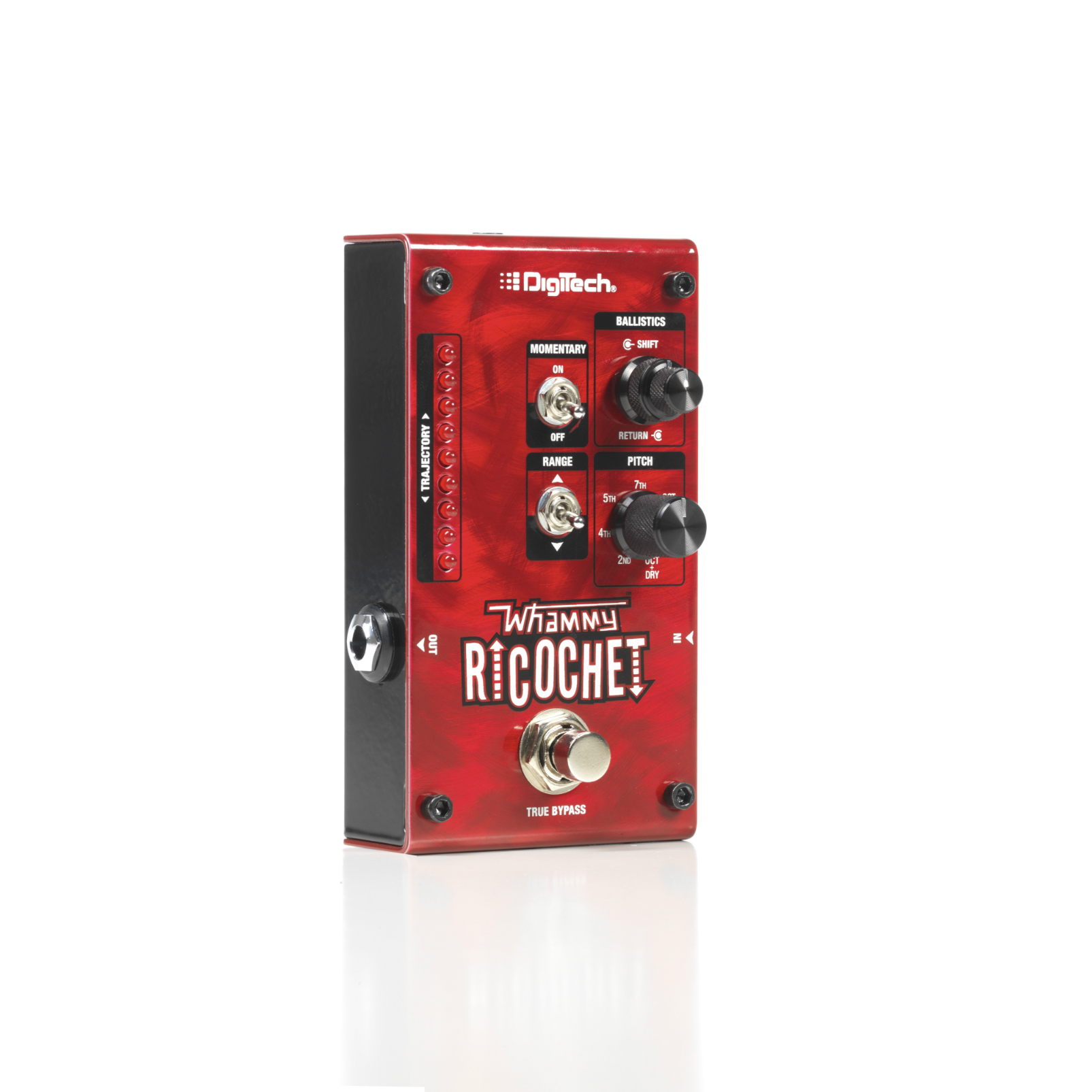 Whammy Ricochet - Red - Pitch Shift Pedal - Hero