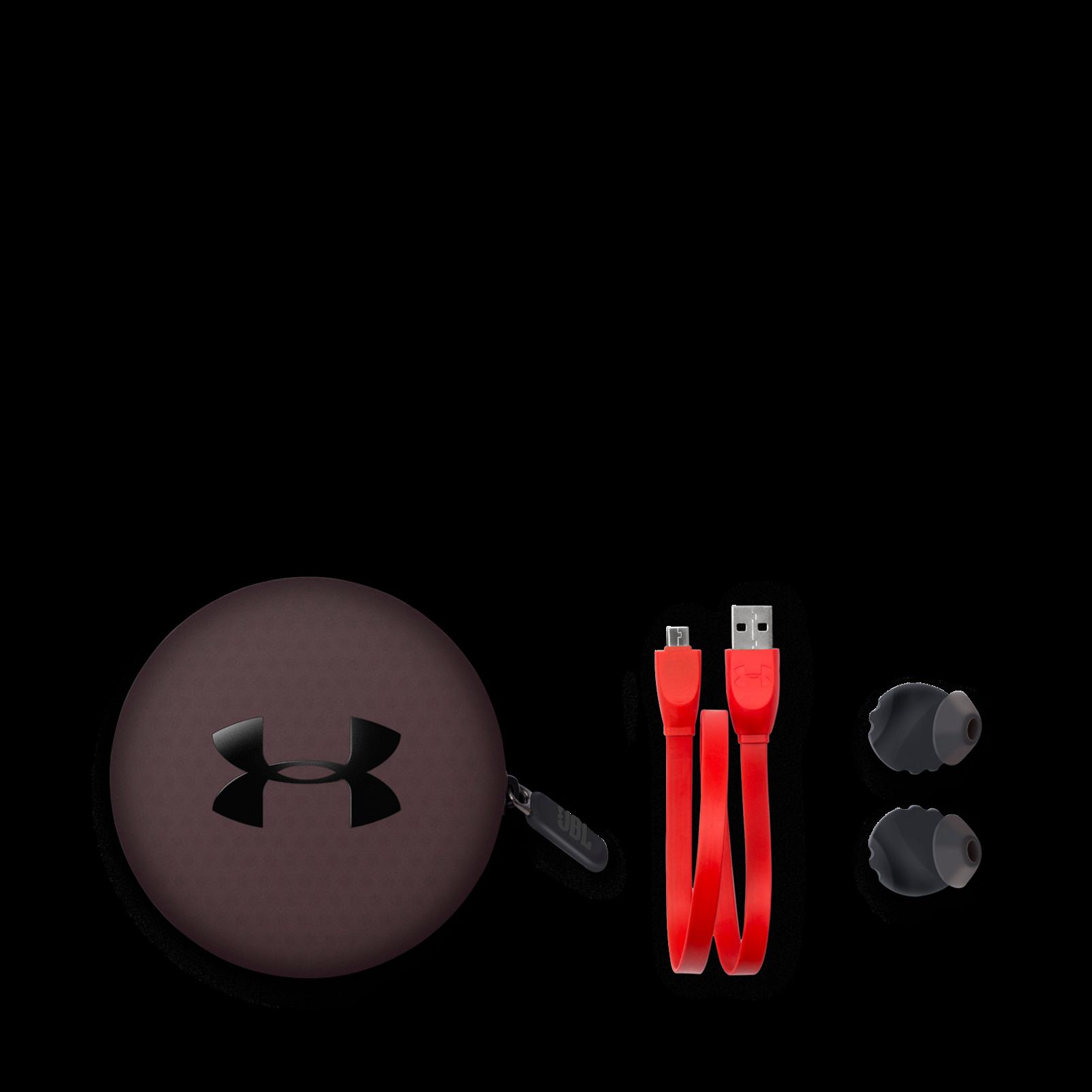 Under Armour Headphones Wireless - Black - UA Headphones Wireless - Engineered by JBL - Detailshot 5