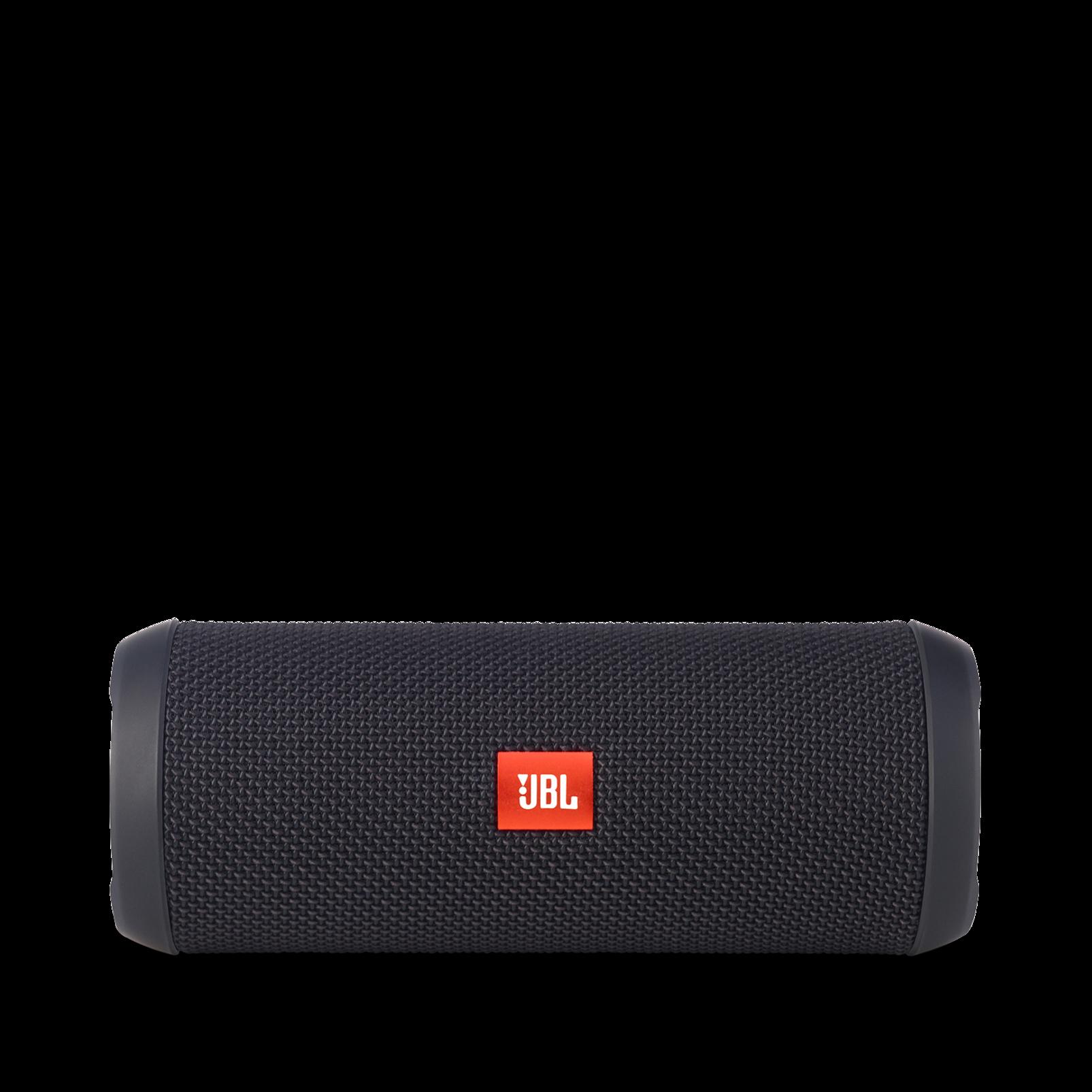 JBL Flip 3 - Black - Splashproof portable Bluetooth speaker with powerful sound and speakerphone technology - Front