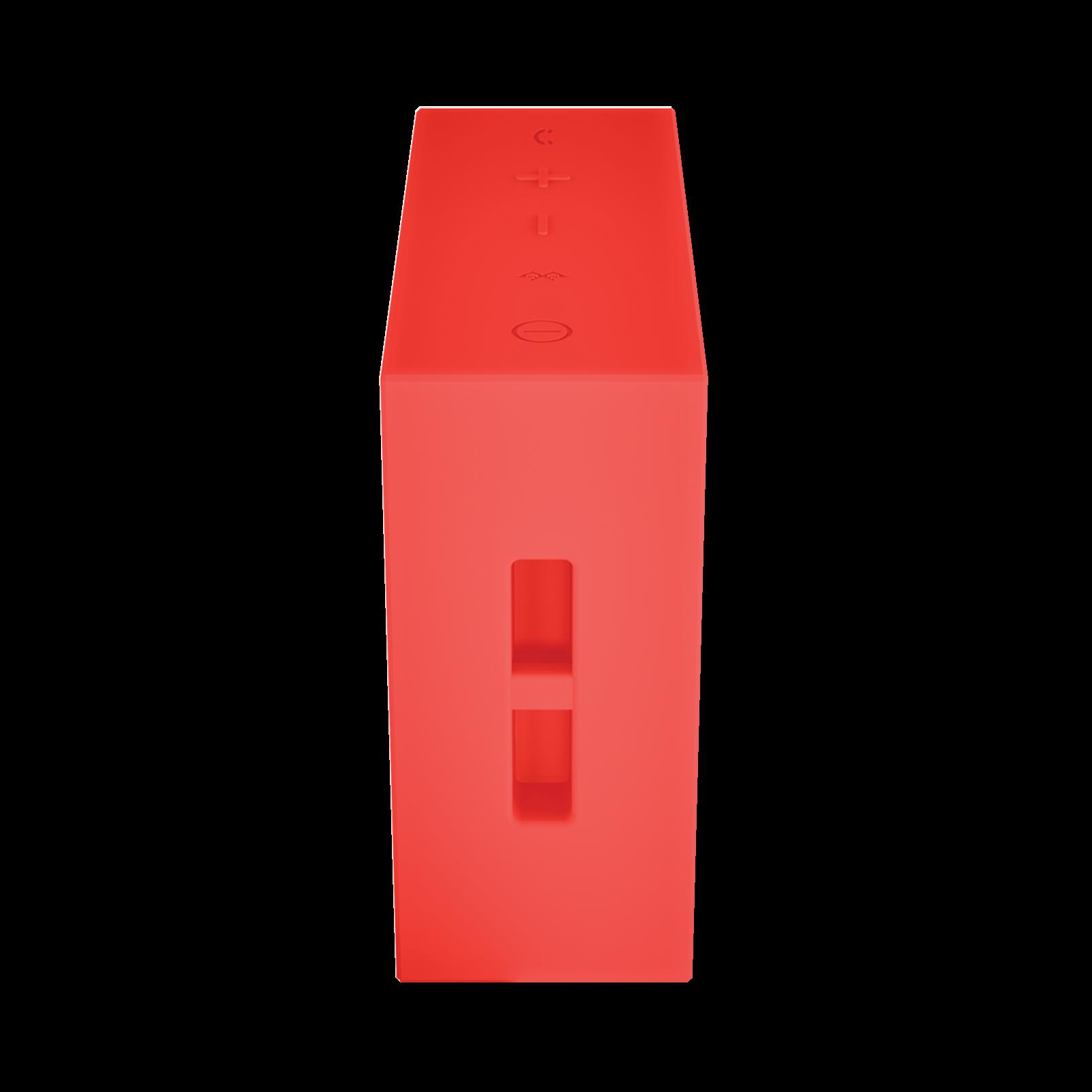 JBL GO - Red - Full-featured, great-sounding, great-value portable speaker - Detailshot 2