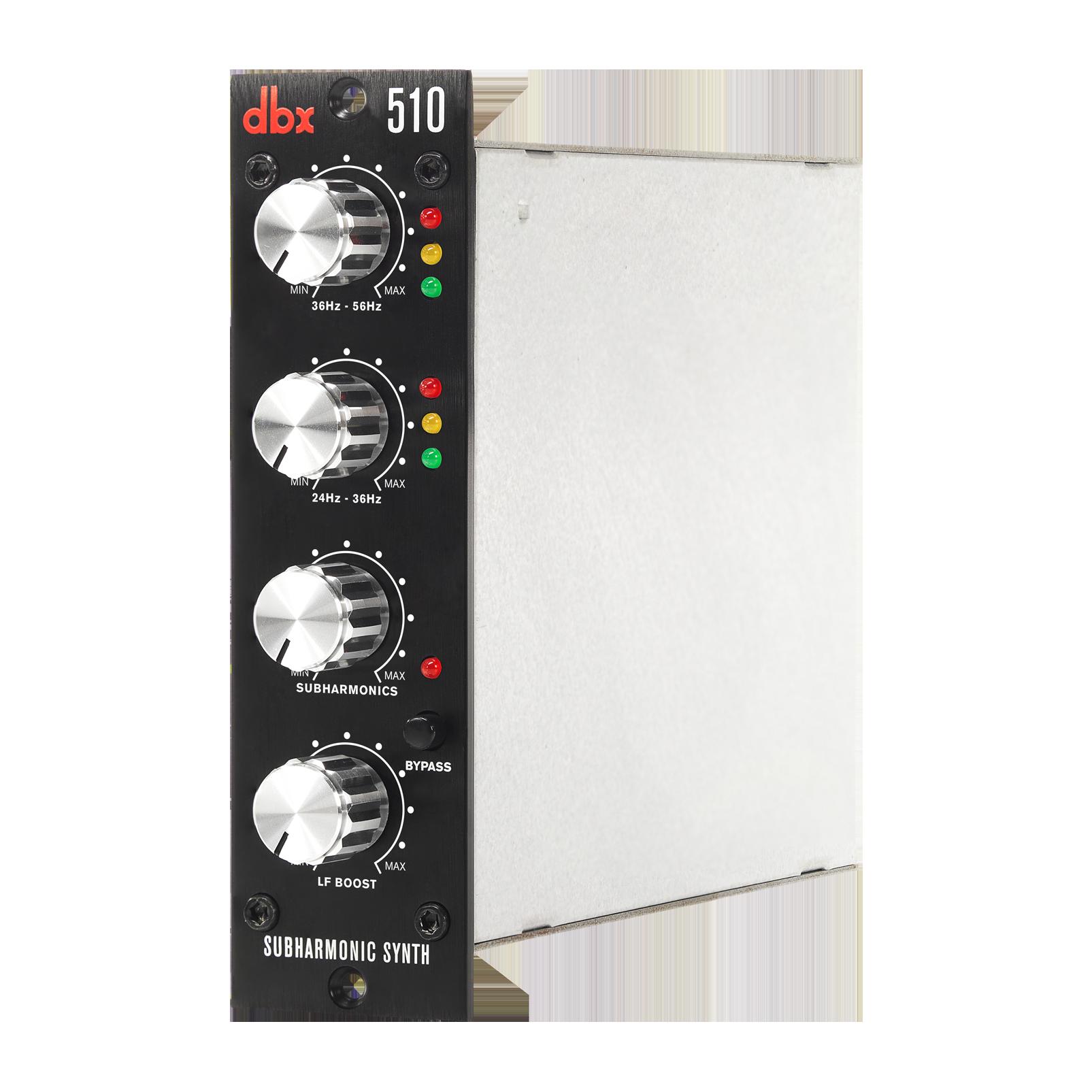 510 - Black - Subharmonic Synthesizer - 500 Series - Detailshot 1