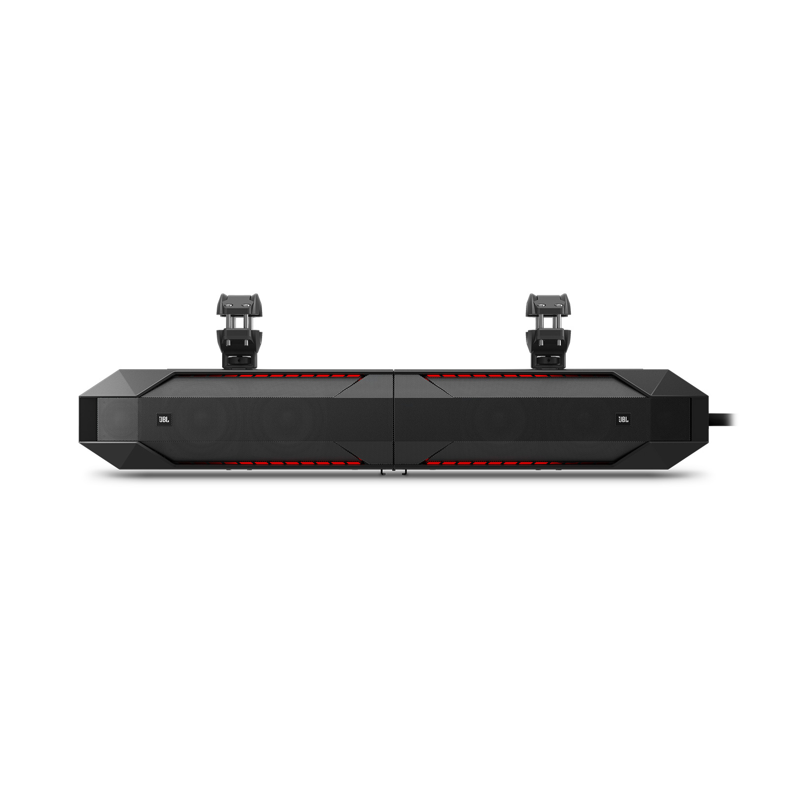 JBL Stadium UB4100 Powersports - Black - Weatherproof Full Range Speaker Pair, 240W - Front