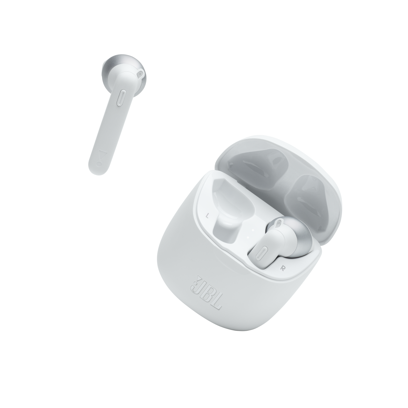 JBL TUNE 225TWS - White - True wireless earbud headphones - Detailshot 3