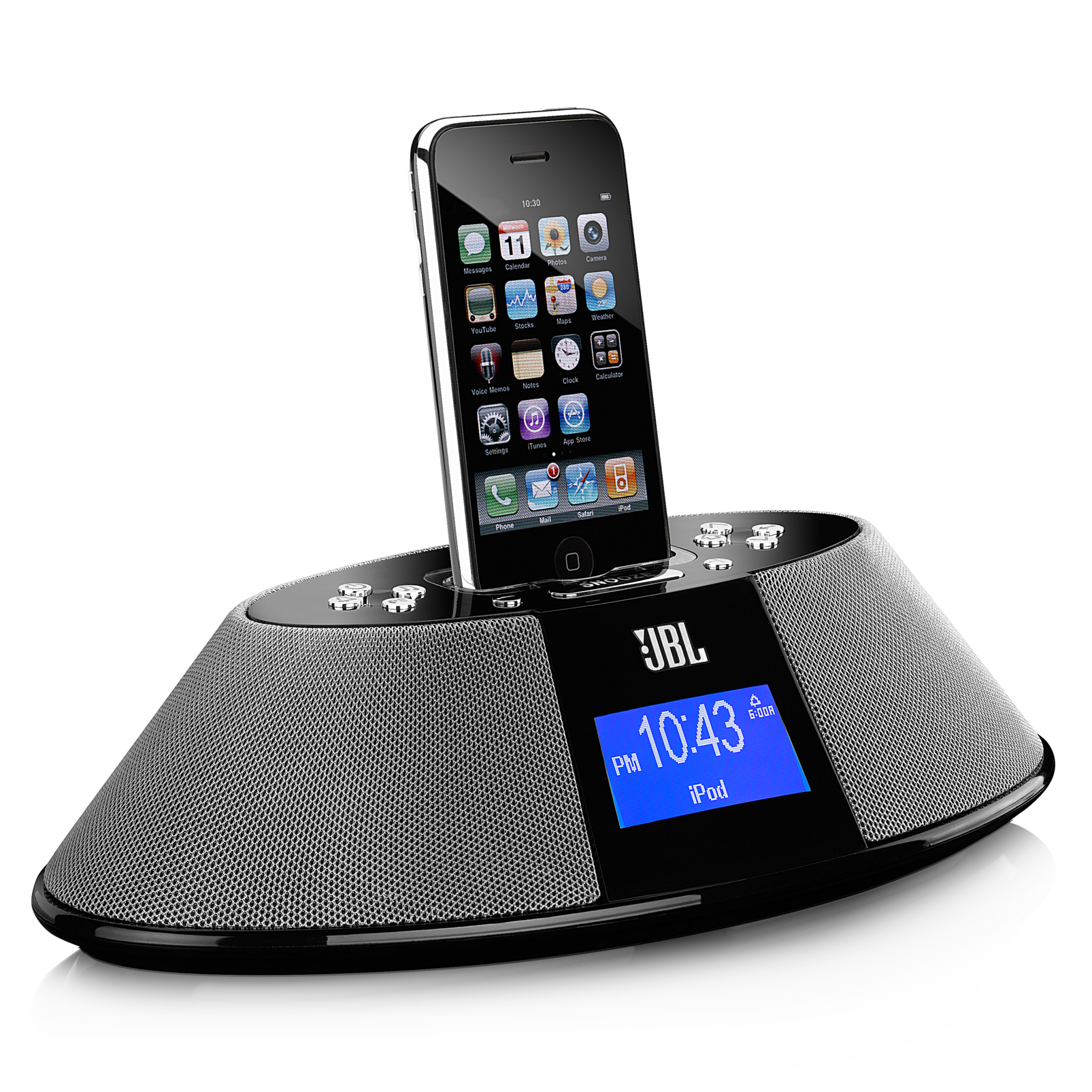 JBL On Time 200P | AM/FM radio dock for iPod/iPhone