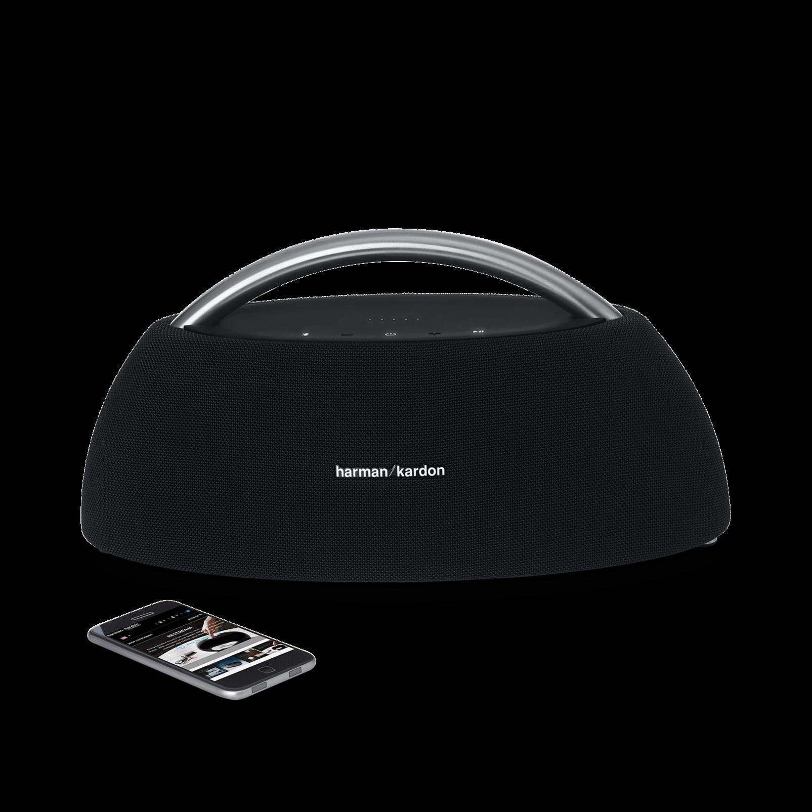 Go + Play - Black - Portable Bluetooth Speaker - Detailshot 1
