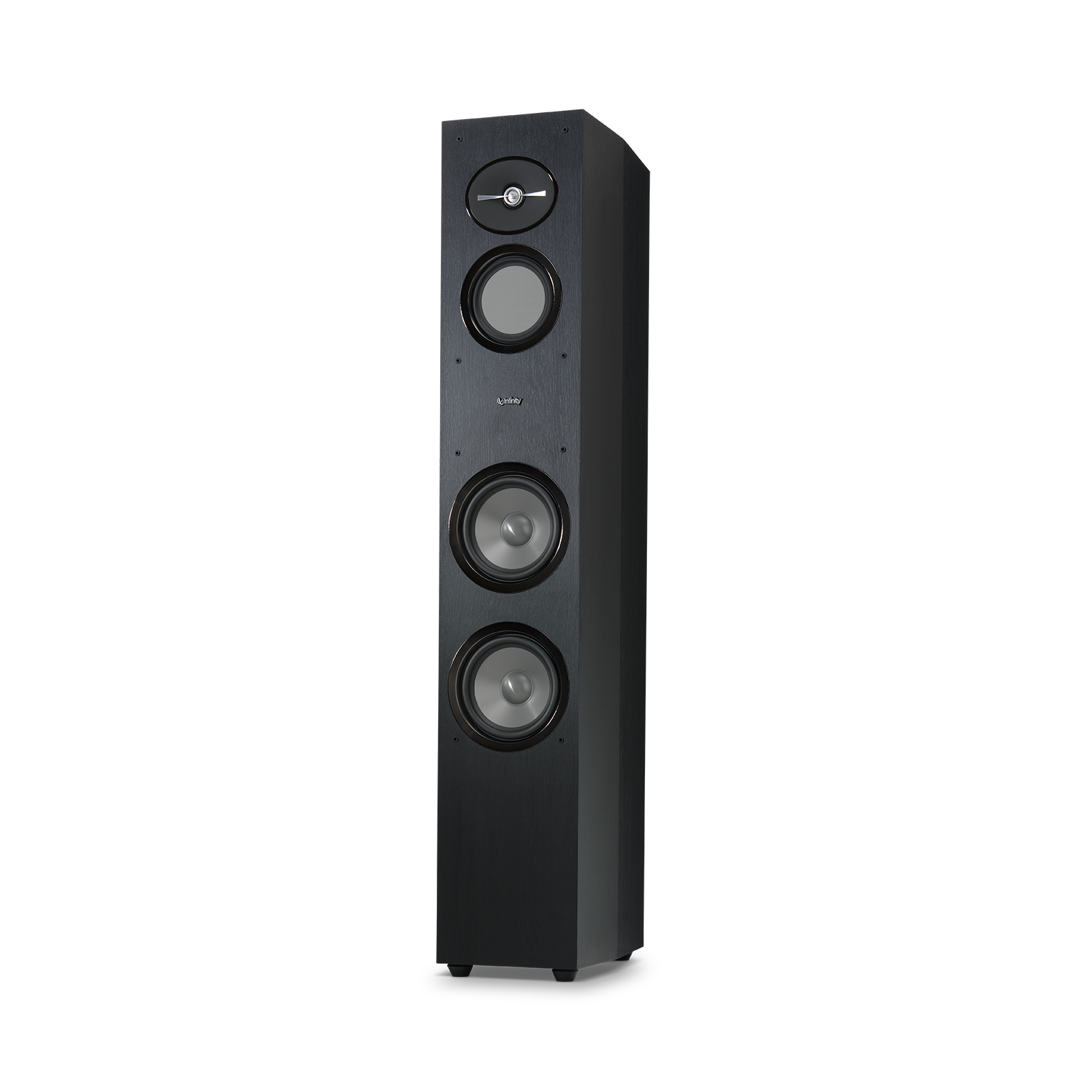 "Reference 263 - Black - 6-1/2"" 3-Way Floorstanding Loudspeaker - Detailshot 1"