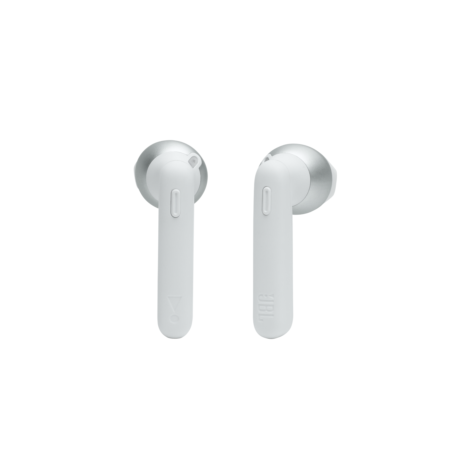 JBL Tune 225TWS - White - True wireless earbud headphones - Front