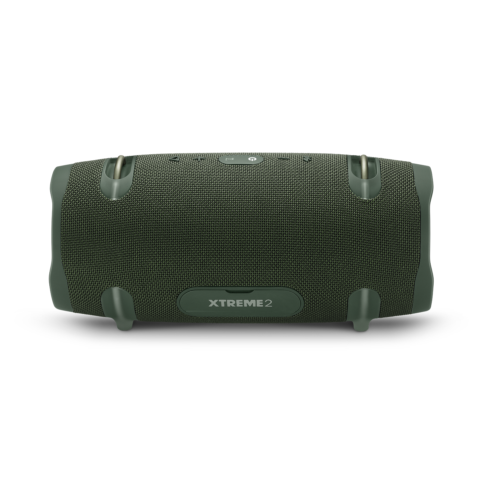 JBL Xtreme 2 - Forest Green - Portable Bluetooth Speaker - Back