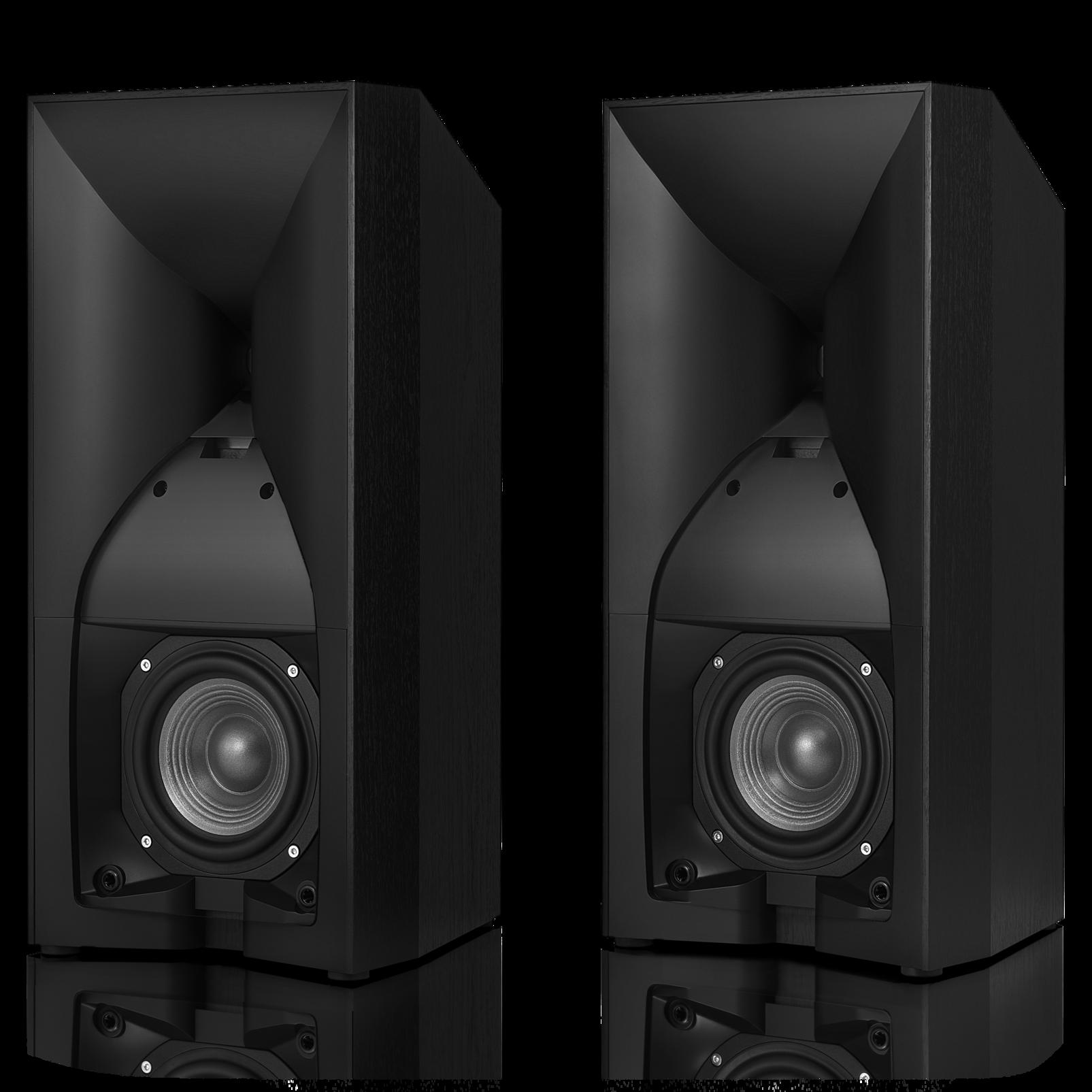 Studio 530 - Black - Professional-quality 125-watt Bookshelf Speakers - Detailshot 1