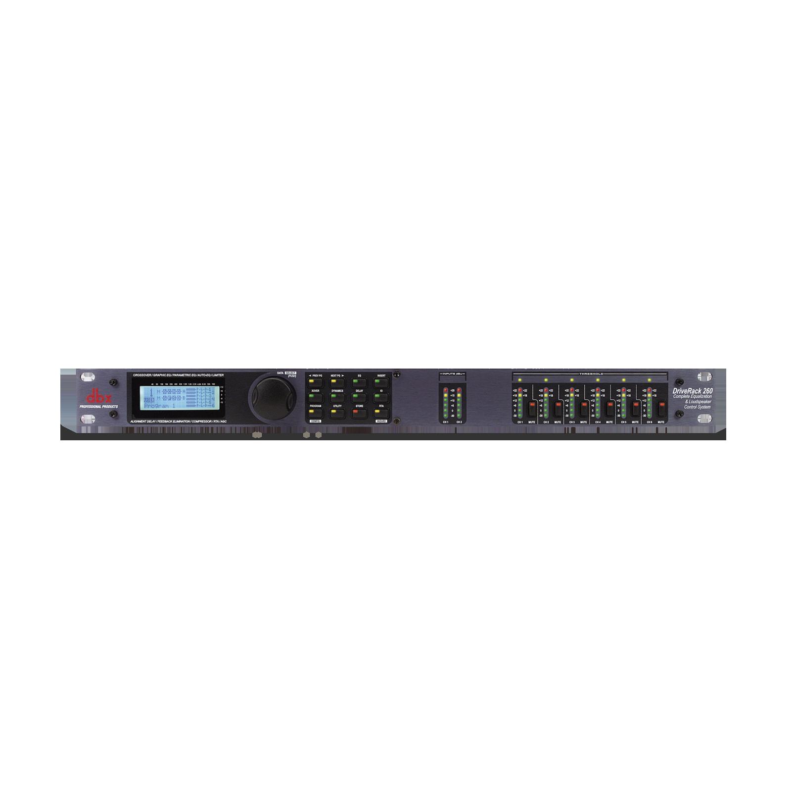 DriveRack 260 - Black - Loudspeaker management system - Hero
