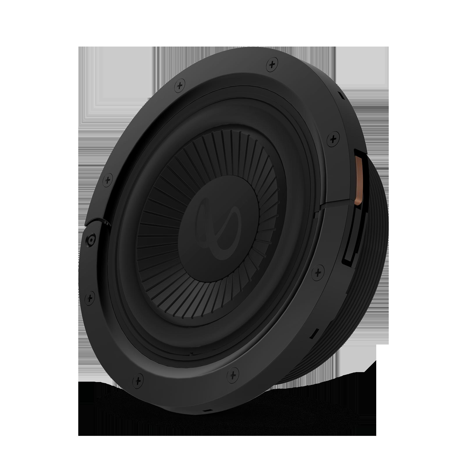"Reference Flex Woofer 8s - Black - 8"" (200mm) adjustable depth car audio subwoofers optimized for factory location upgrades - Hero"