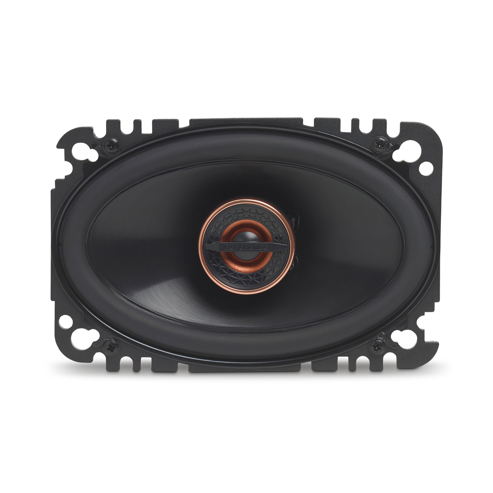 "Reference 6432cfx - Black - 4"" x 6"" (100mm x 152mm) coaxial car speaker, 135W - Front"