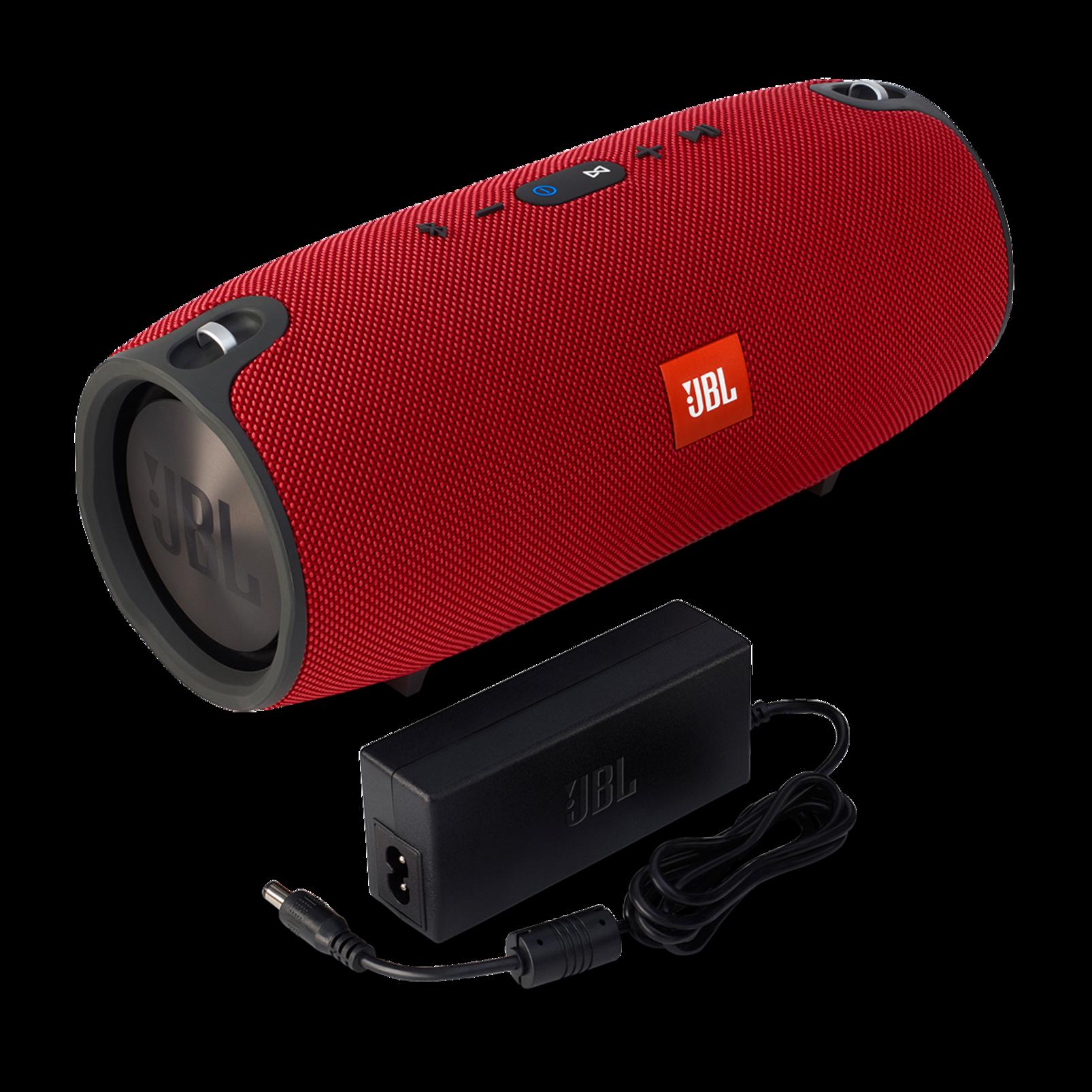 JBL Xtreme - Red - Splashproof portable speaker with ultra-powerful performance - Detailshot 1