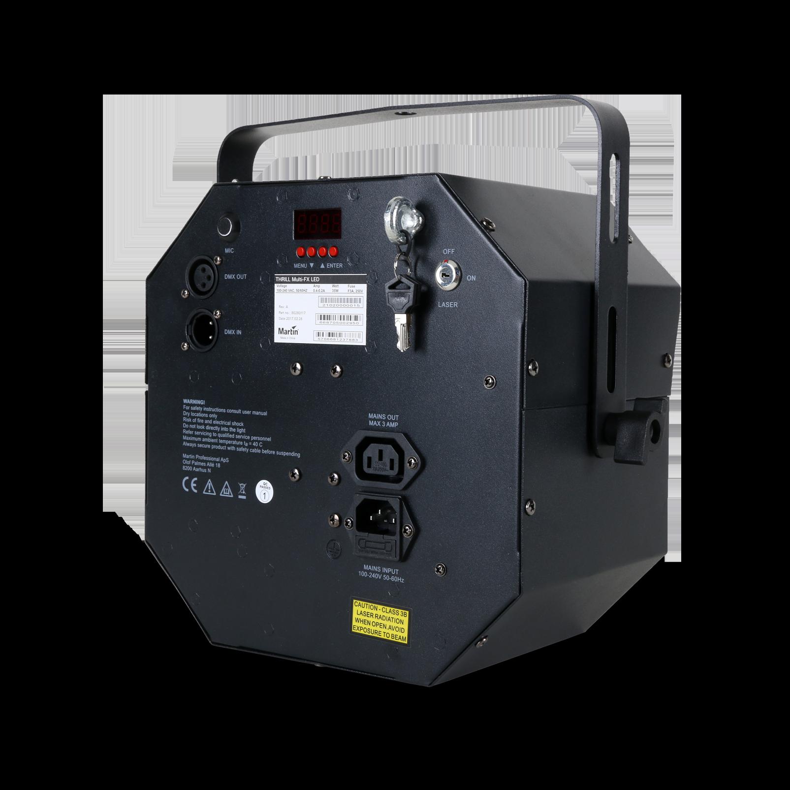 THRILL Multi-FX LED (B-Stock) - Black - Hybrid effect light—multibeam, laser, strobe - Detailshot 1