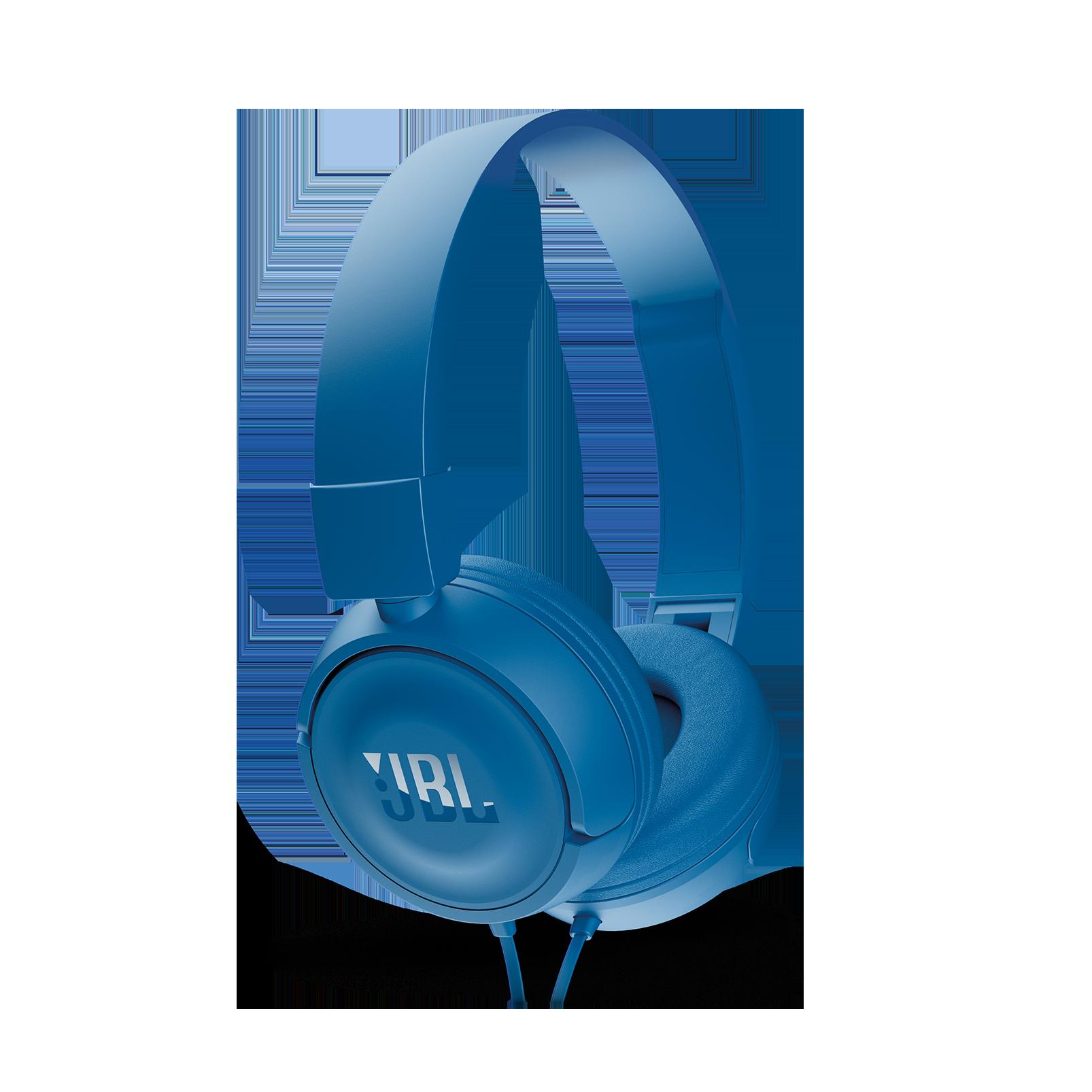 JBL T450 - Blue - On-ear headphones - Detailshot 2