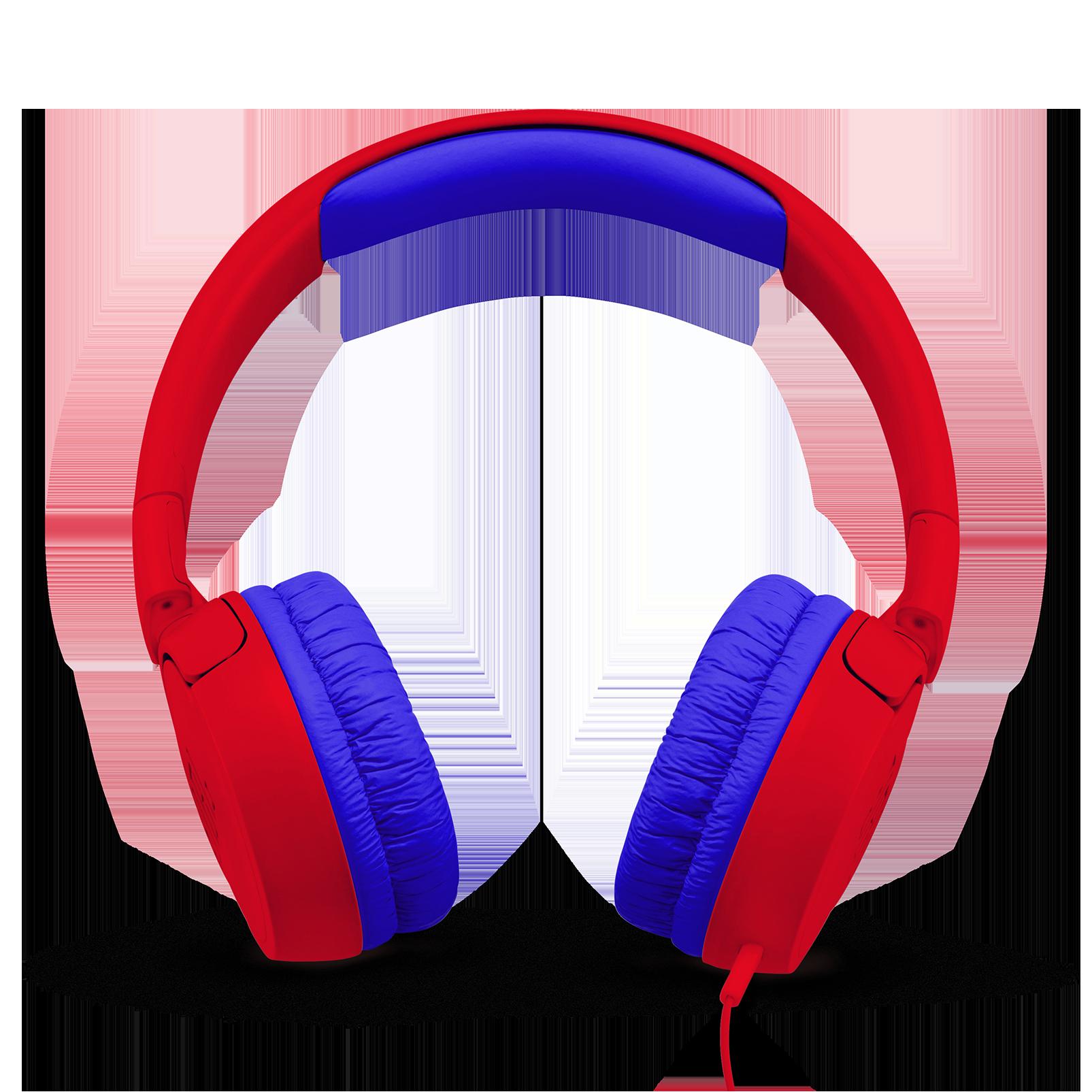 JBL JR300 - Red - Kids on-ear Headphones - Front