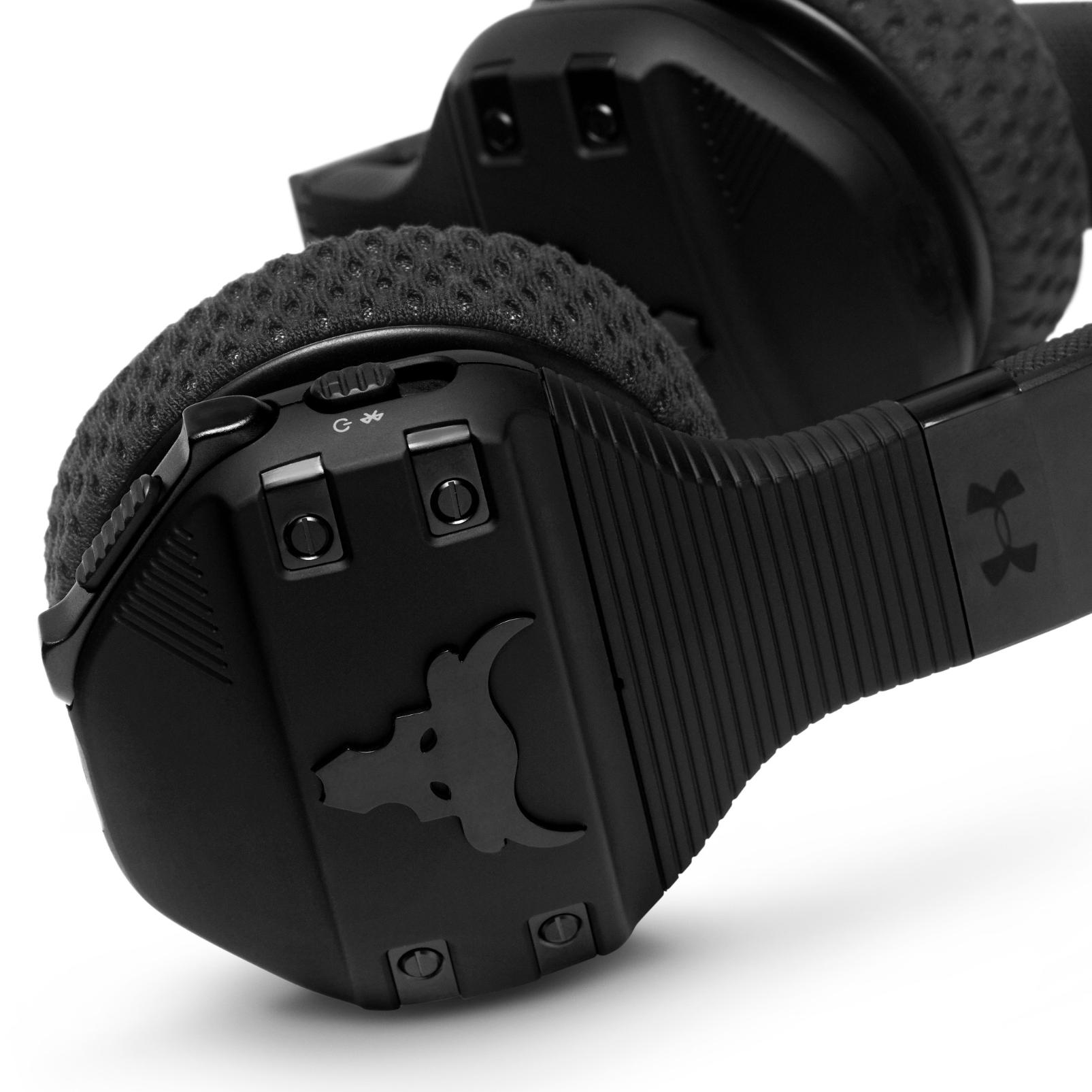 UA Sport Wireless Train Project Rock – Engineered by JBL - Black Matte - On-ear sport Headphones - Detailshot 5