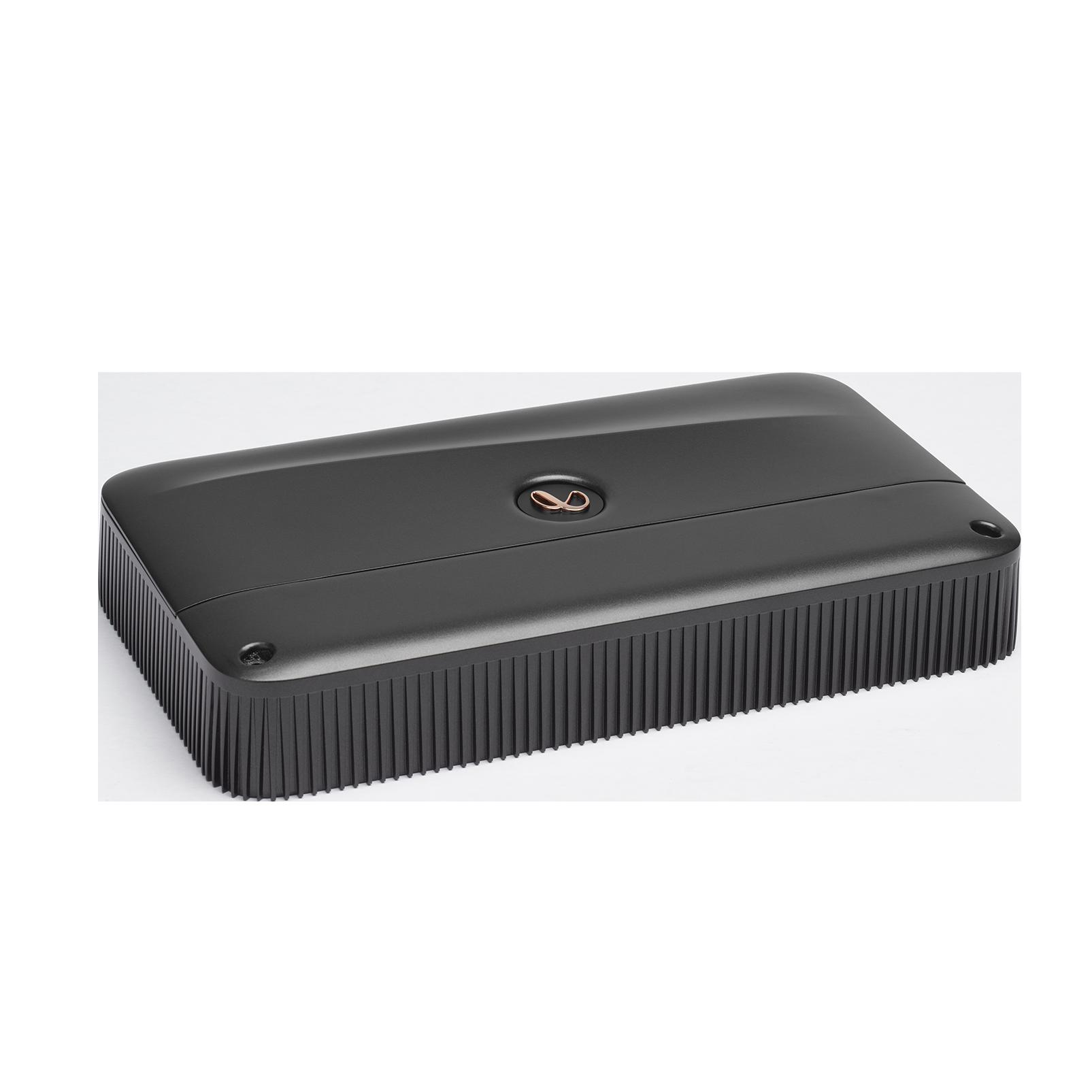 Reference 10001A - Black - High performance mono subwoofer car amplifier - Detailshot 1