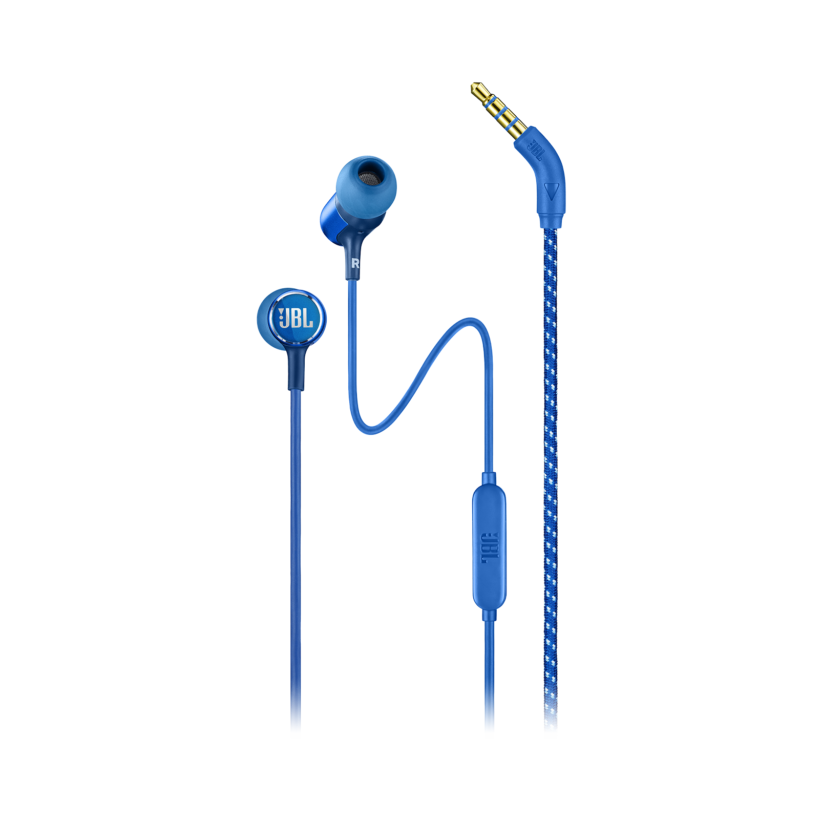 JBL LIVE 100 - Blue - In-ear headphones - Hero