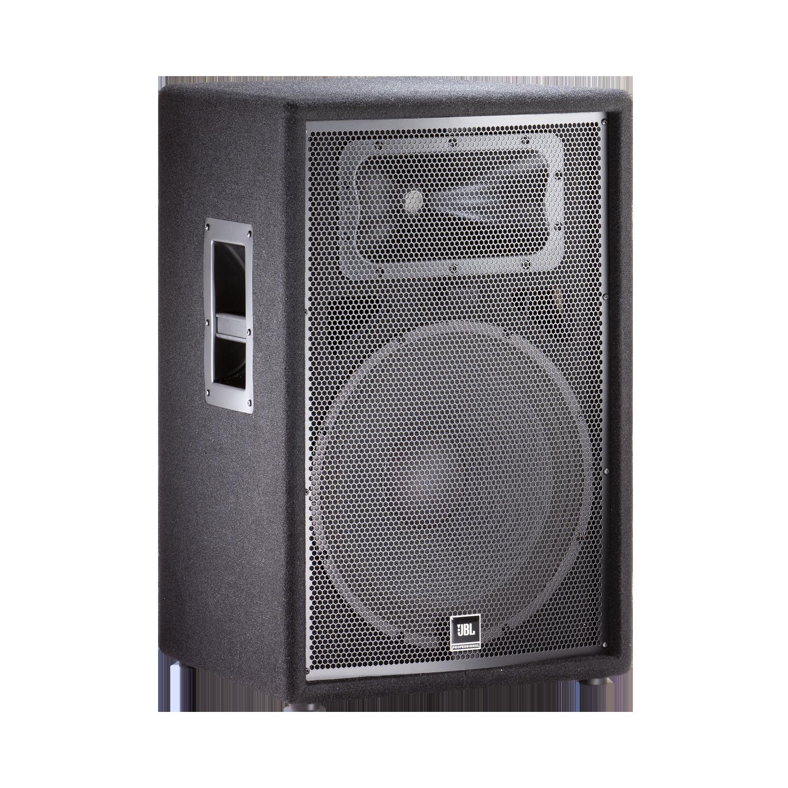 "JBL JRX215 - Black - 15"" Two-Way Sound Reinforcement Loudspeaker System - Hero"