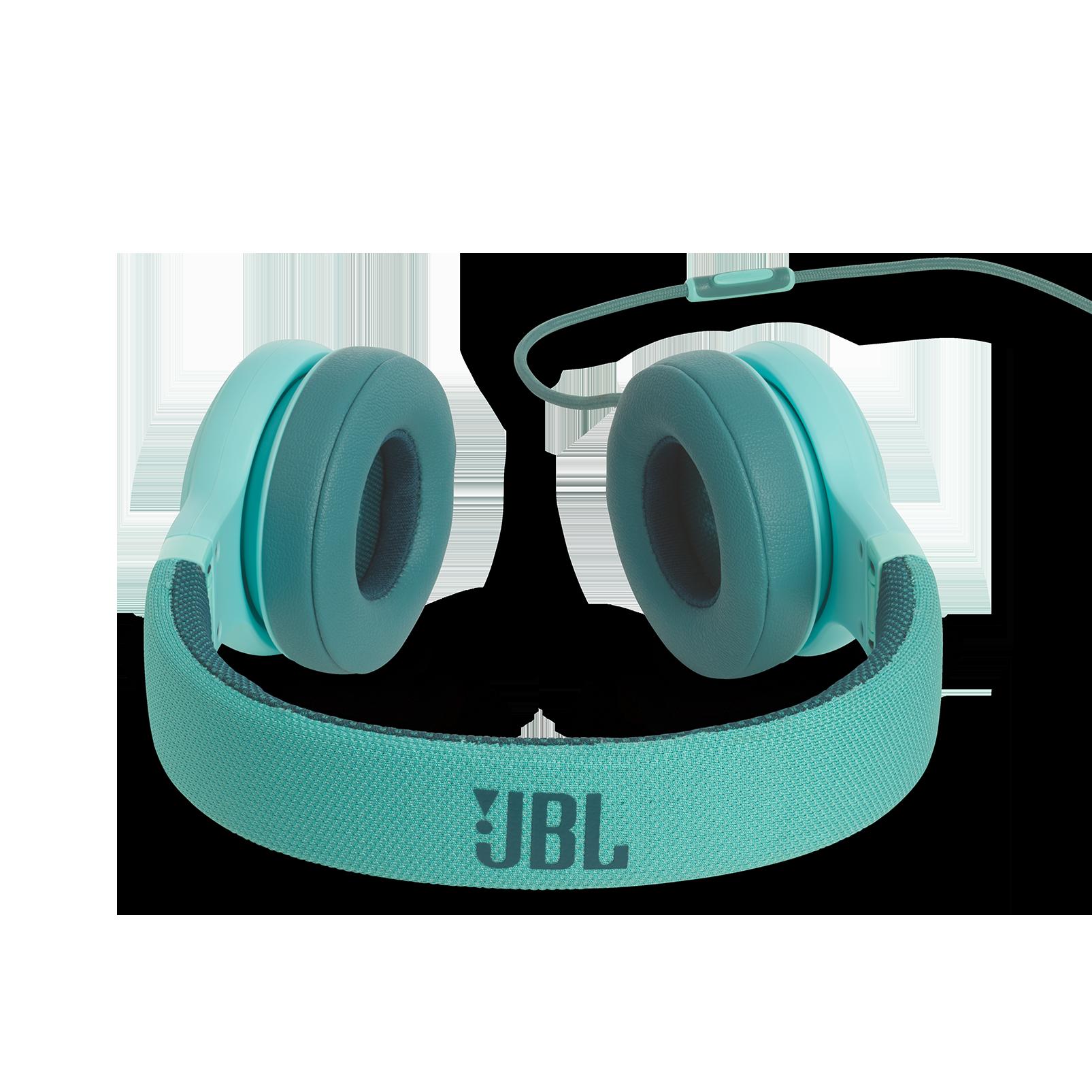E35 - Teal - On-ear headphones - Detailshot 4