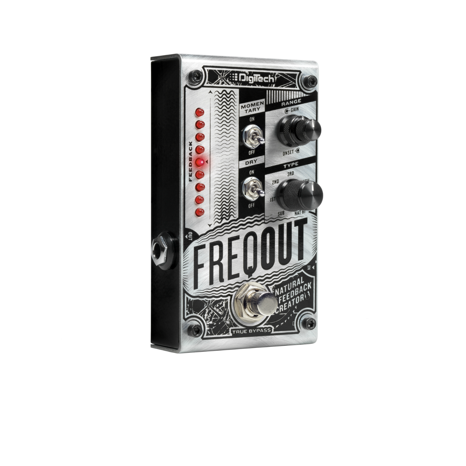 FreqOut - Silver - Natural Feedback Creator - Hero