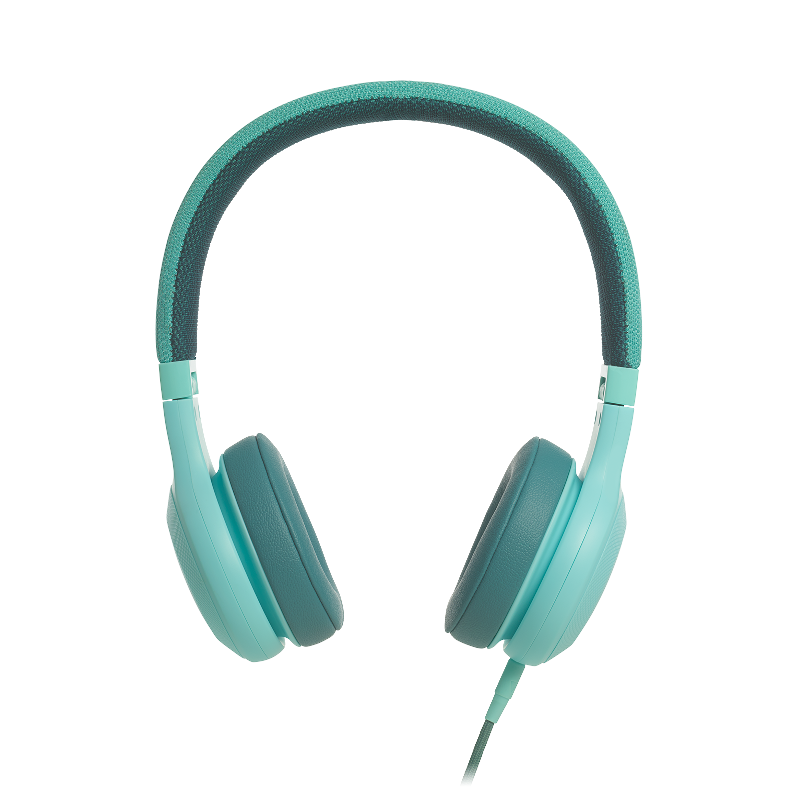 E35 - Teal - On-ear headphones - Detailshot 2