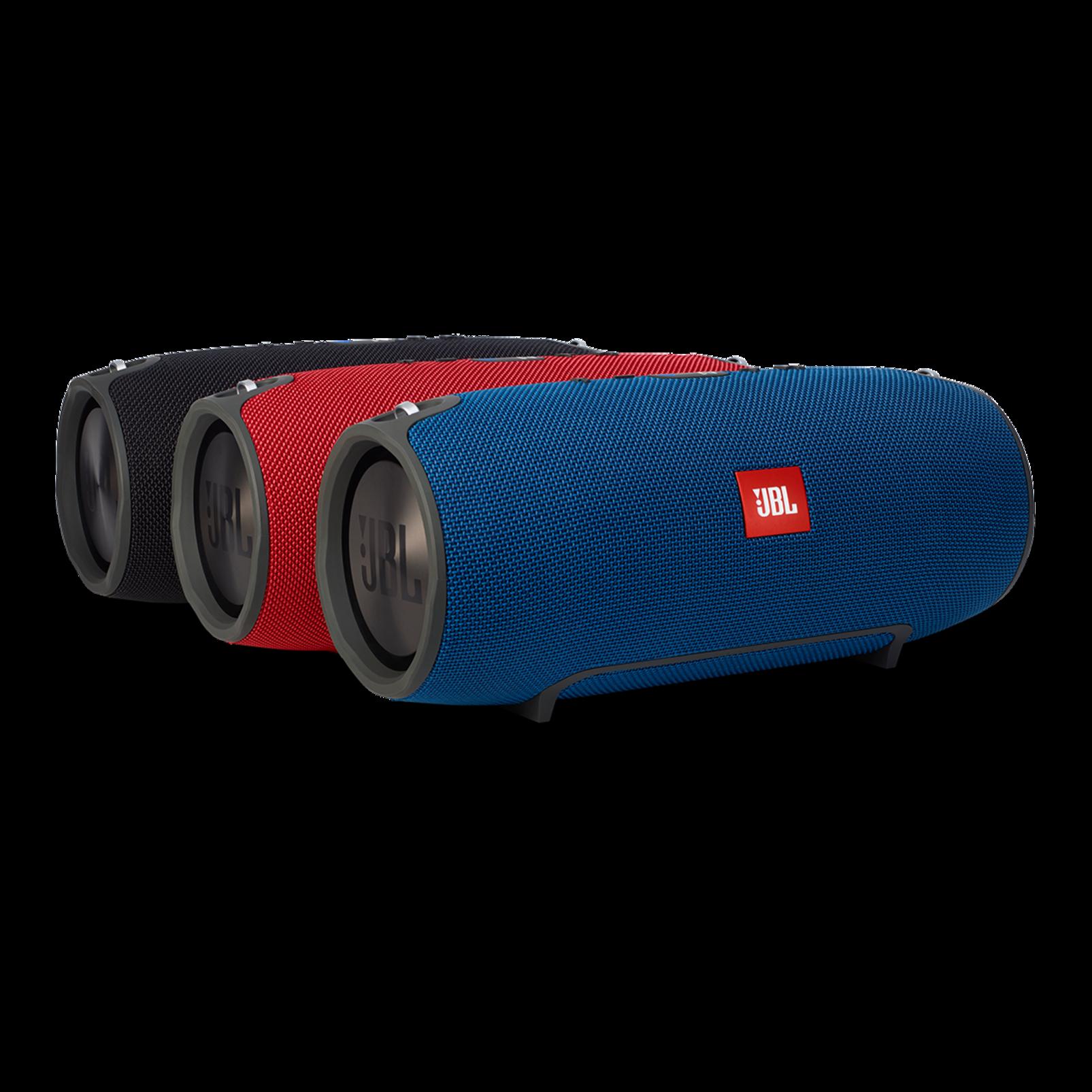 JBL Xtreme - Blue - Splashproof portable speaker with ultra-powerful performance - Detailshot 5