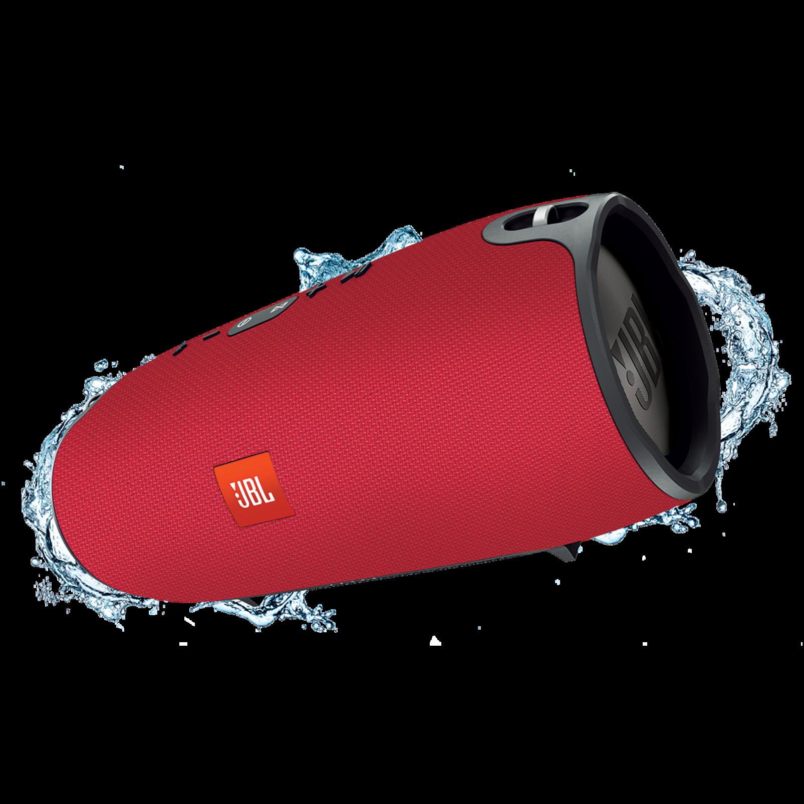 JBL Xtreme - Red - Splashproof portable speaker with ultra-powerful performance - Hero