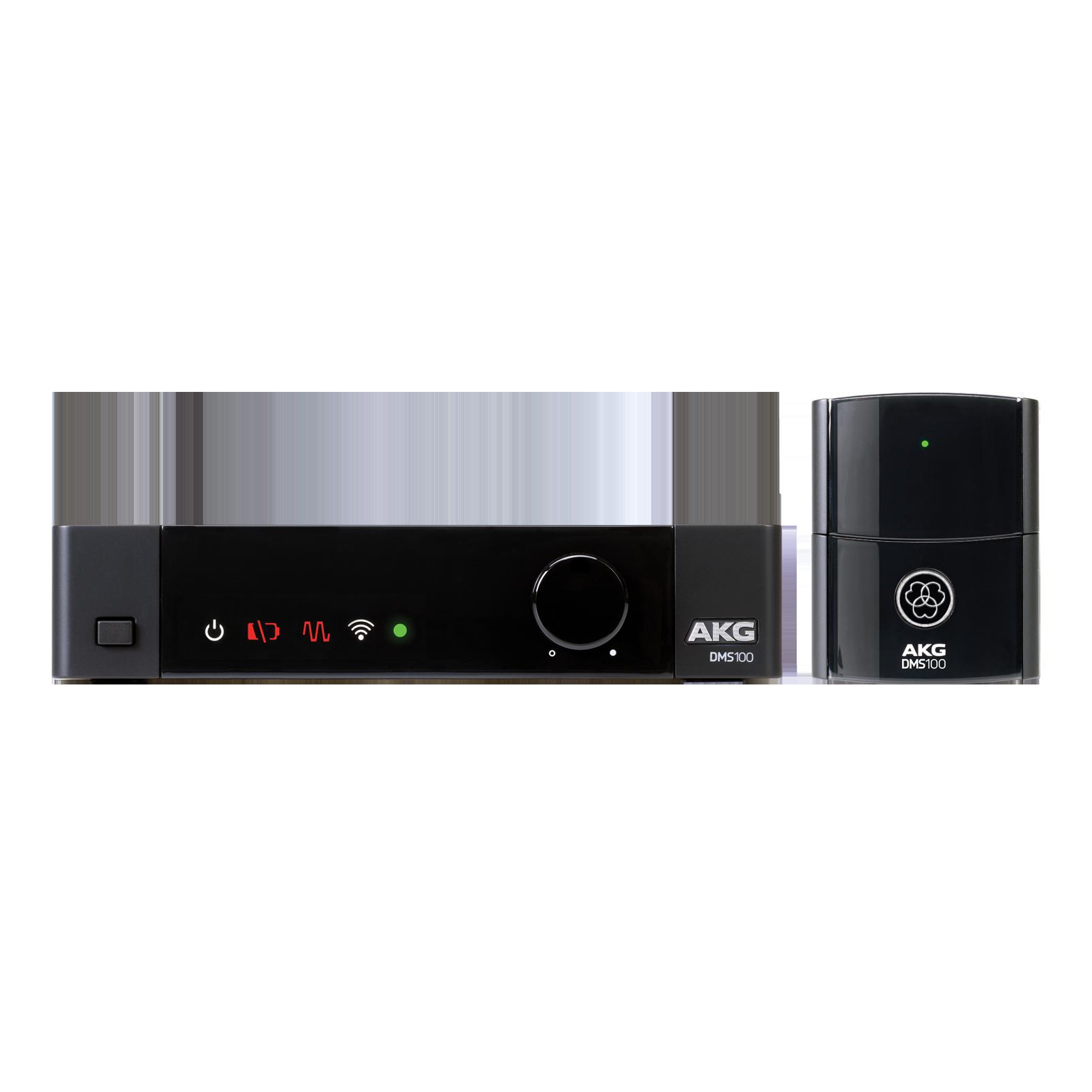 DMS100 Instrument Set - Black - Digital wireless instrument system - Hero